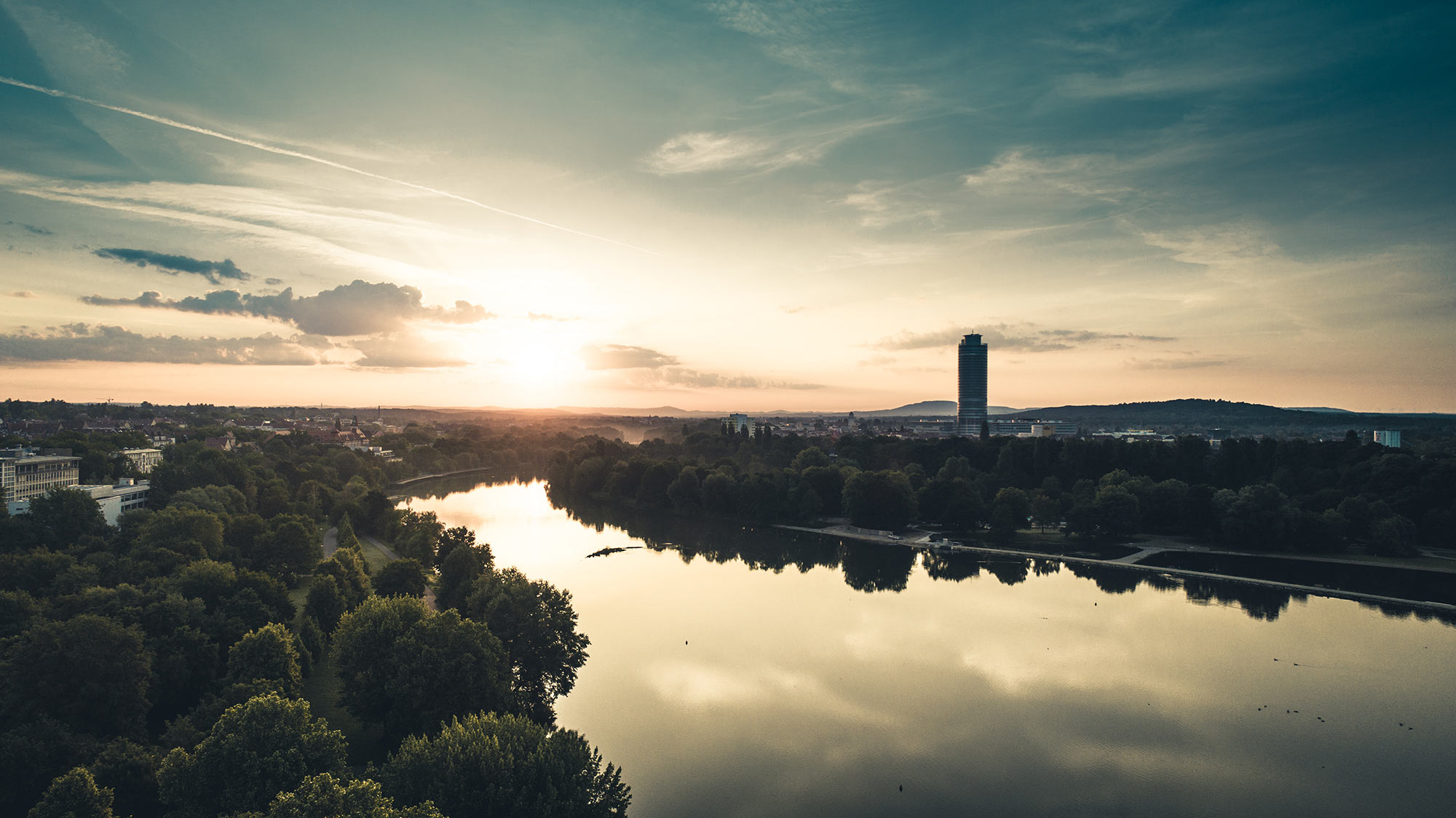 Wöhrder See, Nürnberg, 2018.