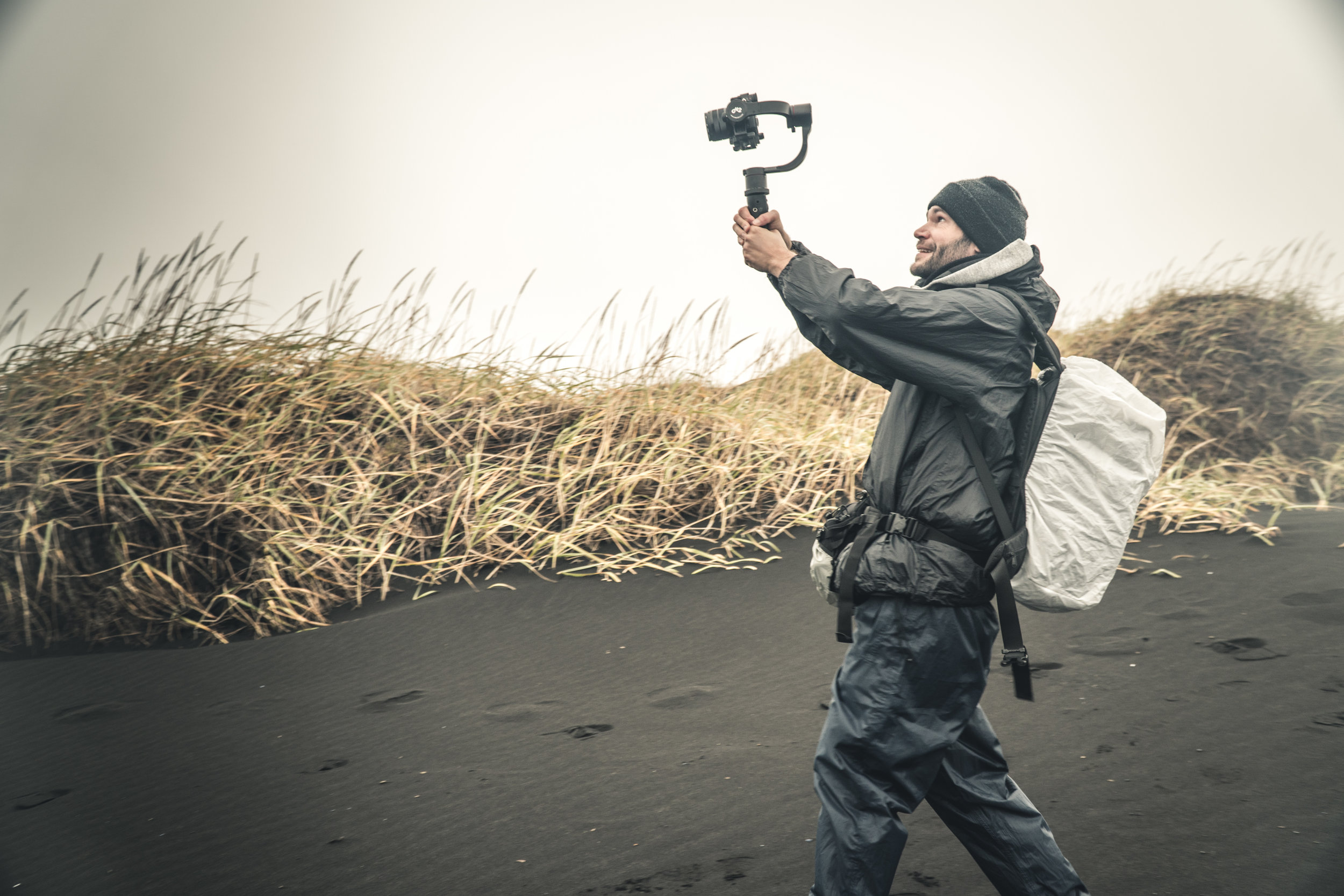 Filmmaker Jacco Kliesch in Iceland