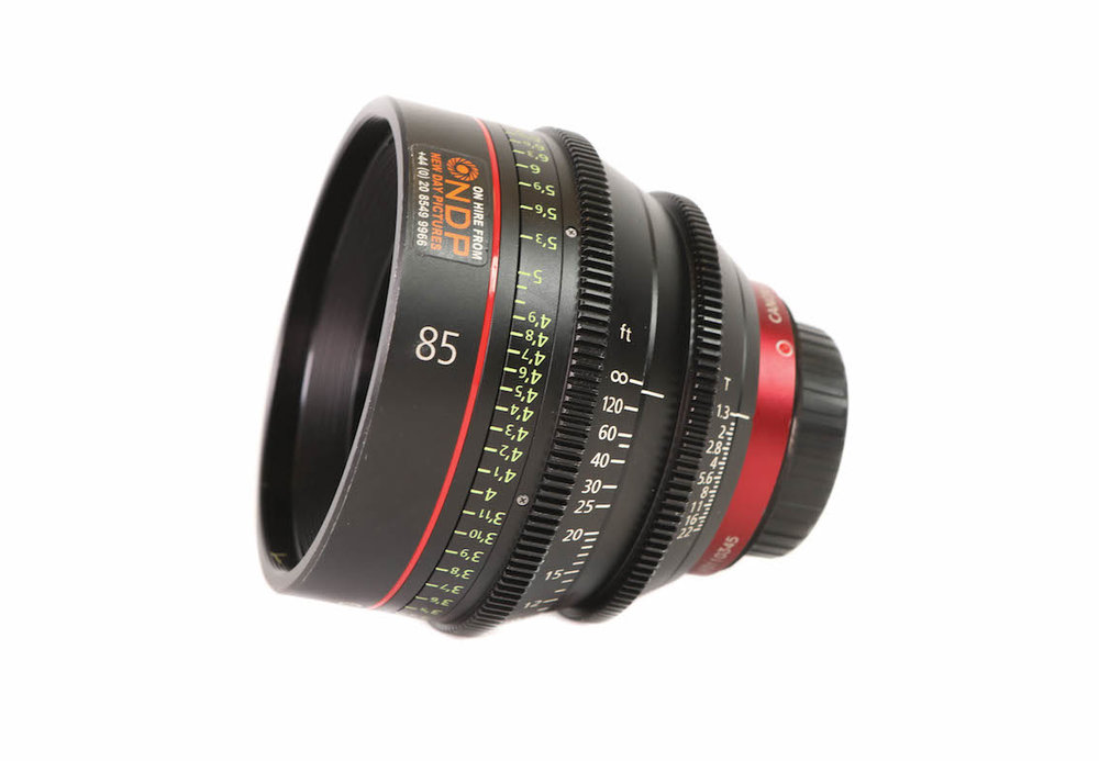 Canon Ef Cine Cn E 85mm T1 3 L F Lens Hire 60 Day Or 180 Week New Day Pictures