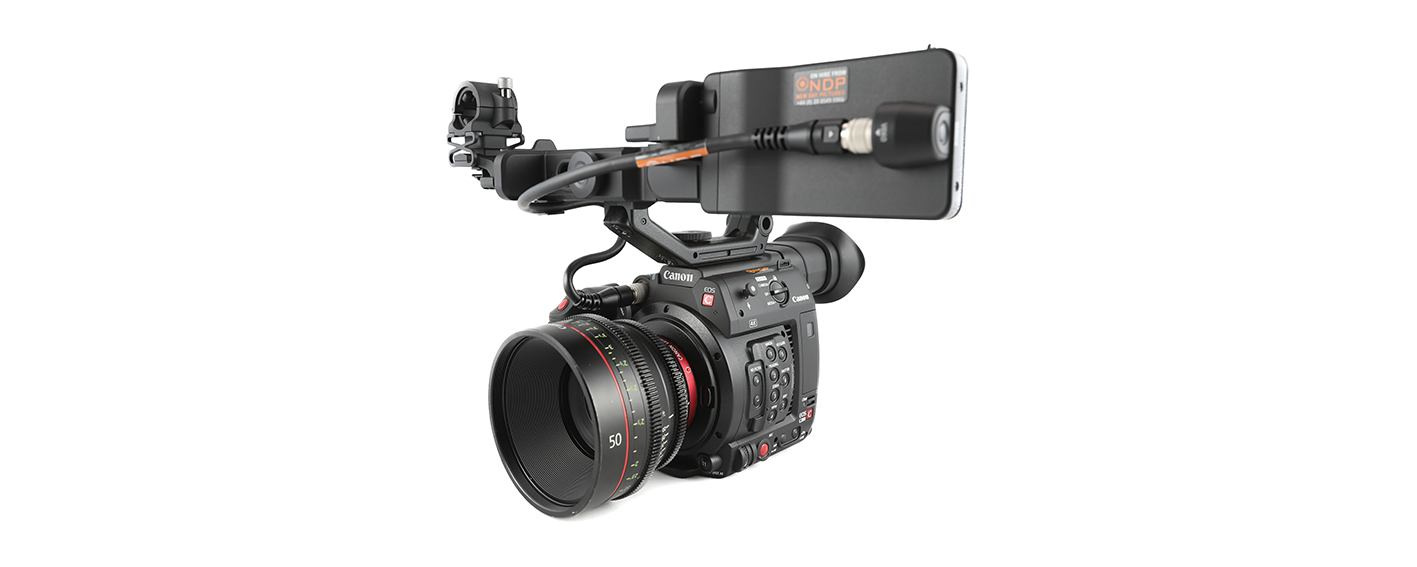 Broadcast Video Camera Hire and Rental Canon C100
