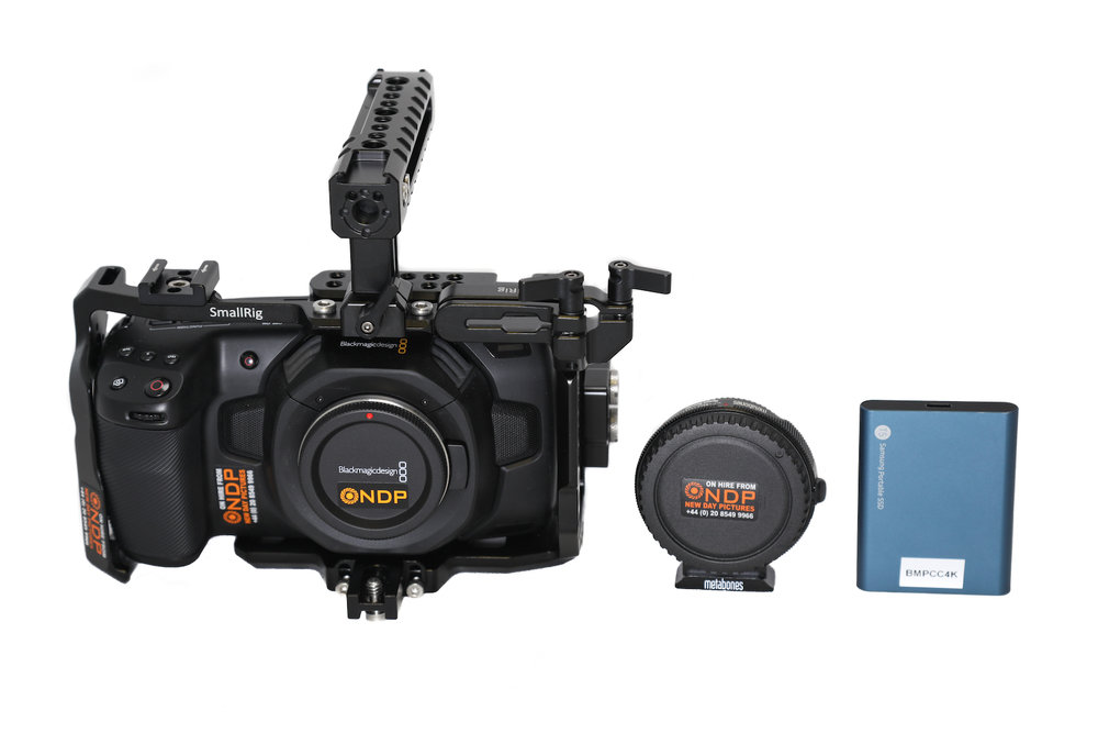 Blackmagic Pocket Cinema Camera 4k Hire 80 Day Or 310 Week New Day Pictures