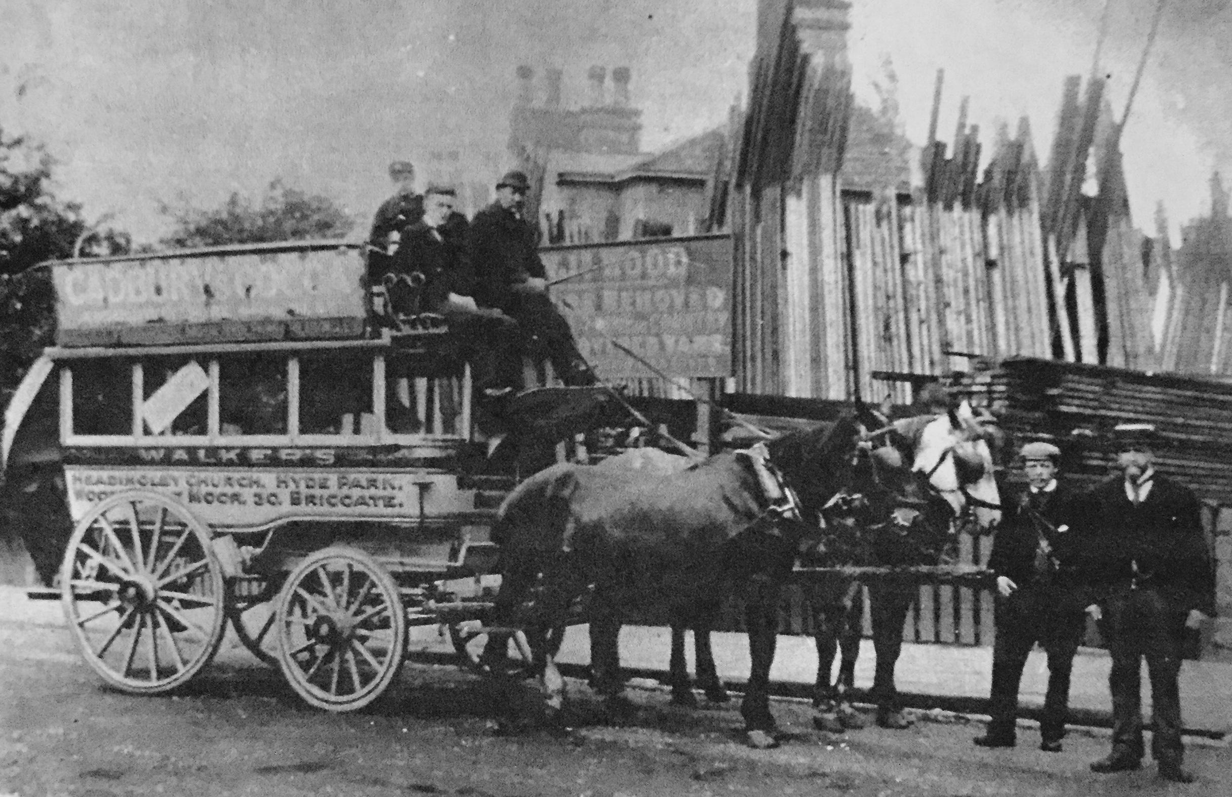 Horse Bus, undated