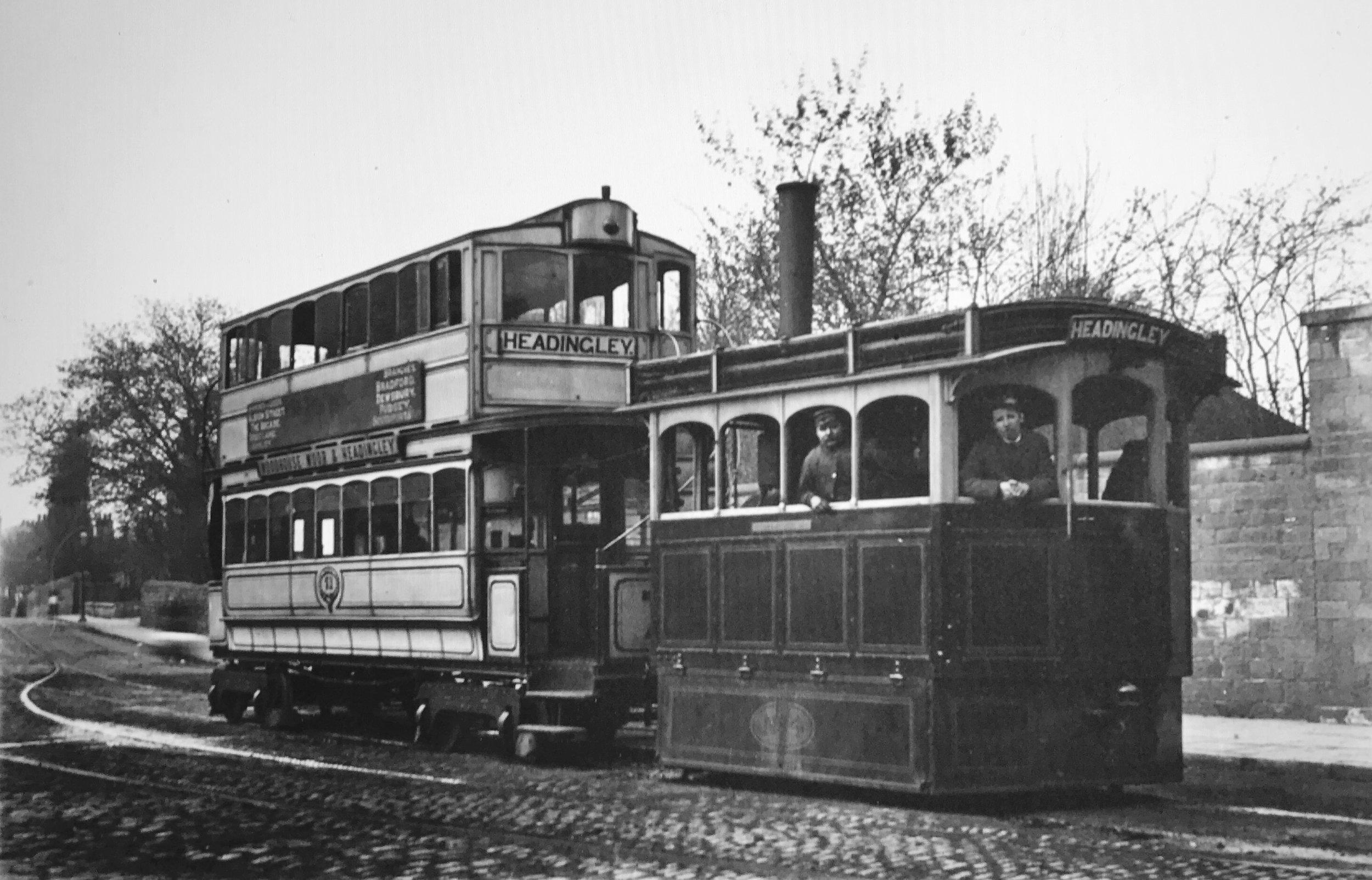 Steam Tram, circa 1890