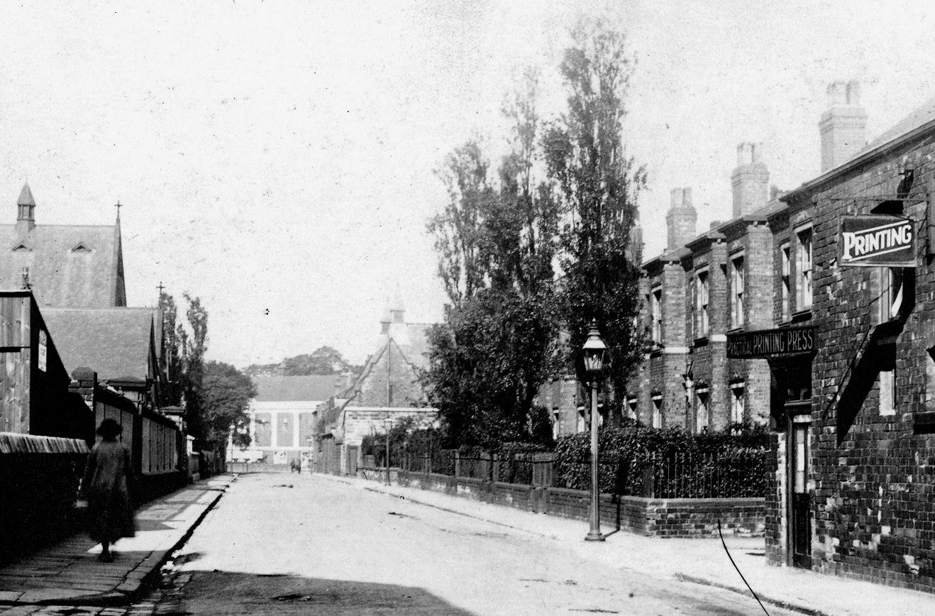 Bennett Road, circa 1938