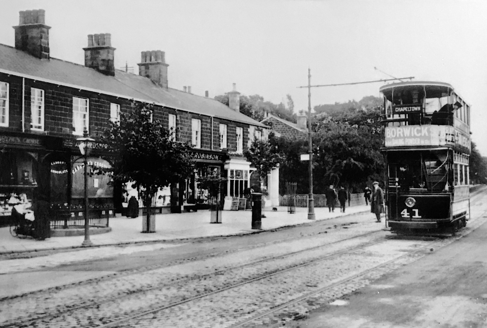 Otley Road, undated