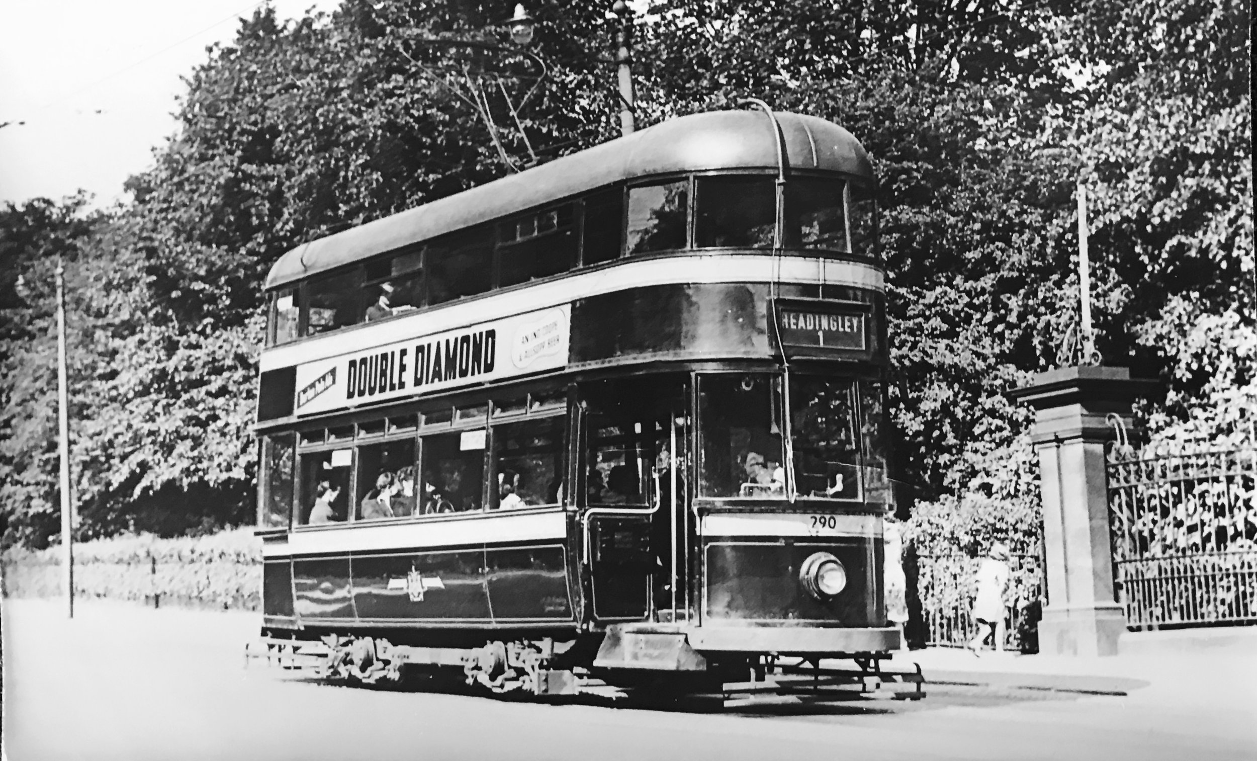 Tram, circa 1950