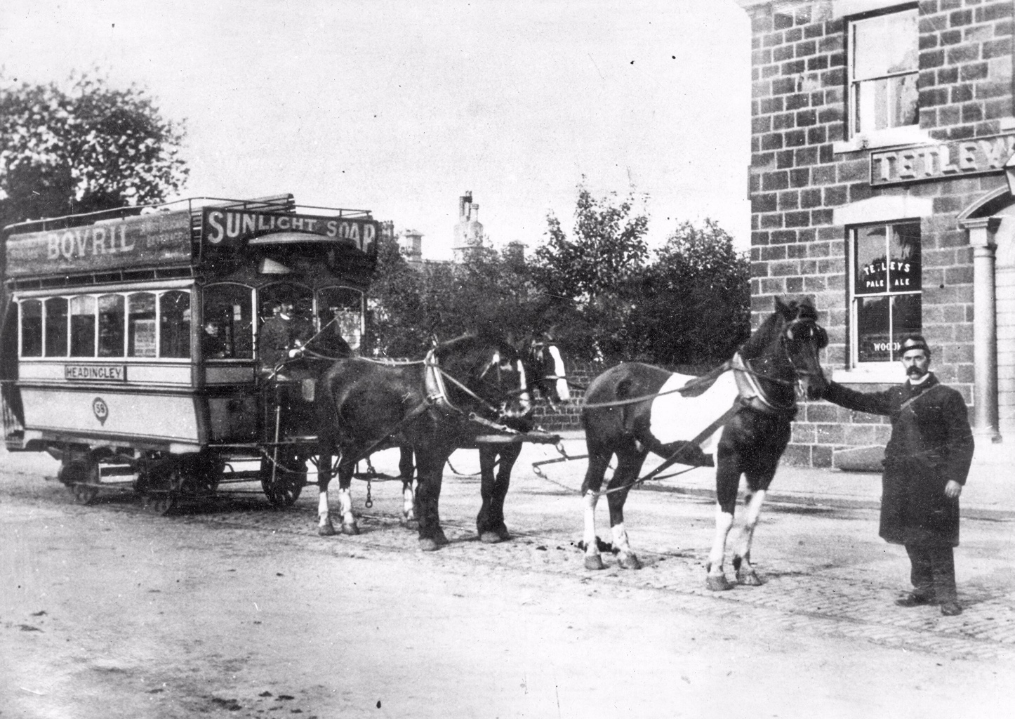 Horse Tram, Headingley Depot