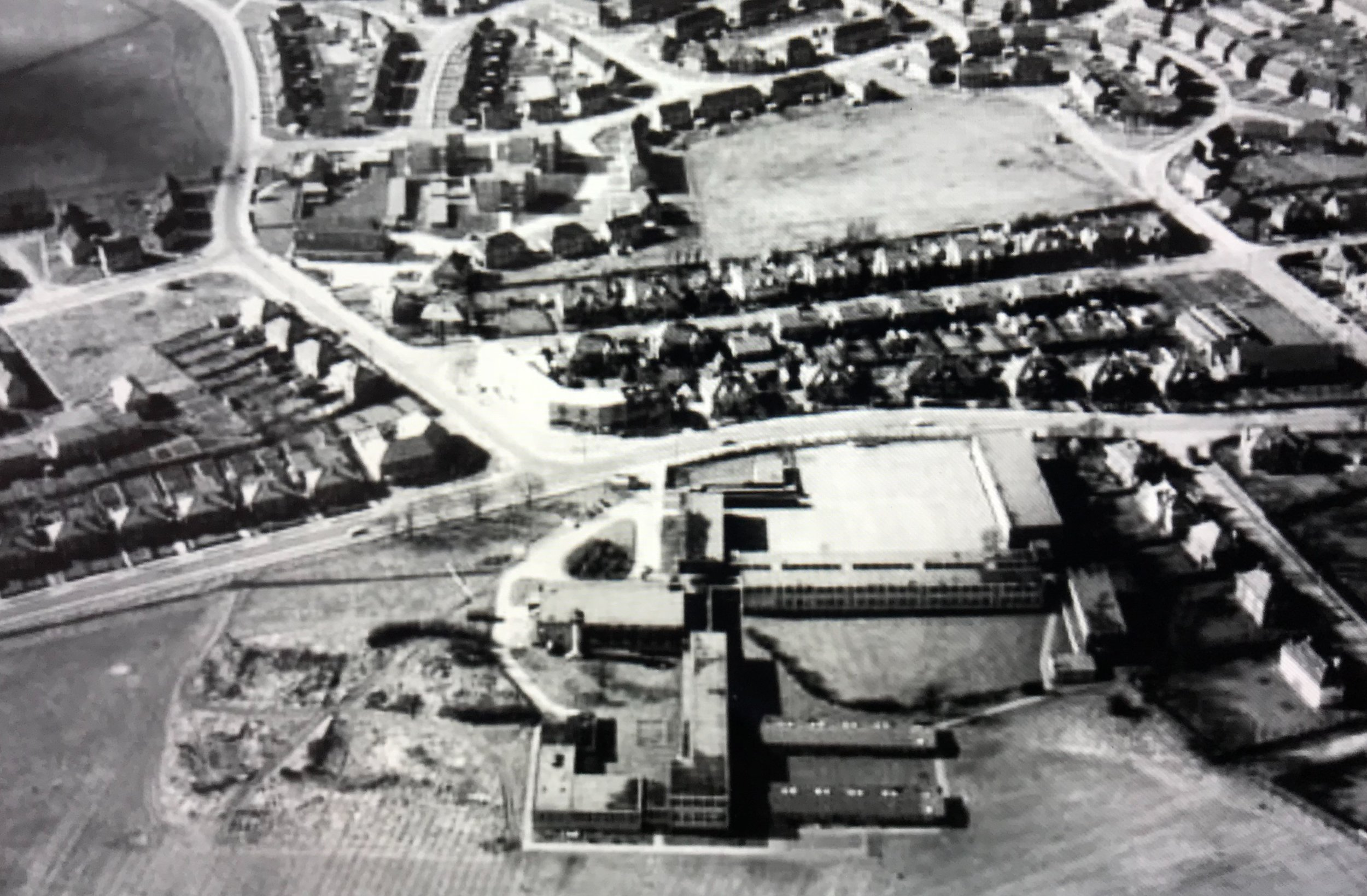 West Park School Aerofilms