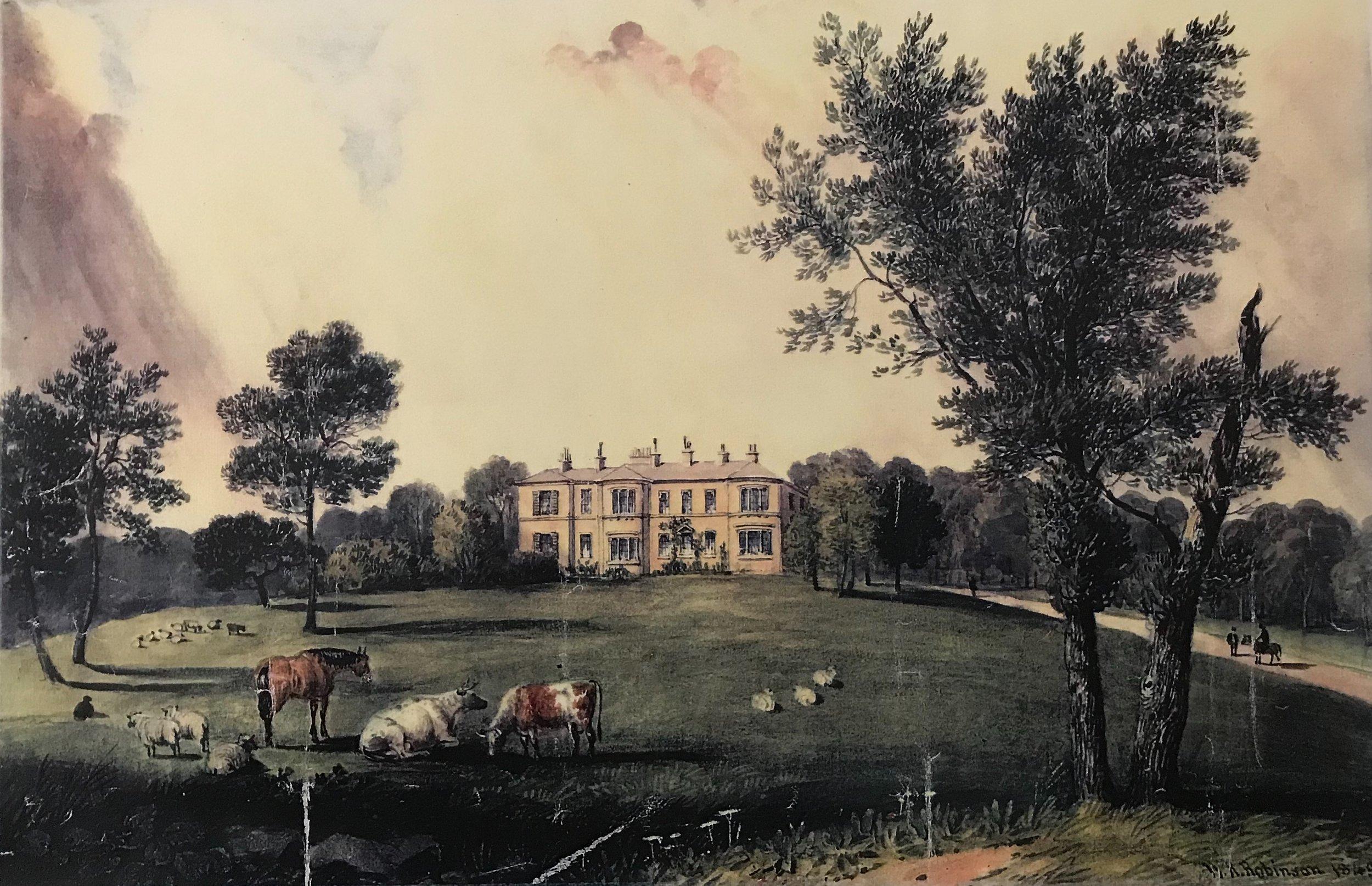 Headingley House, Kirkstall Lane (Demolished 1908)