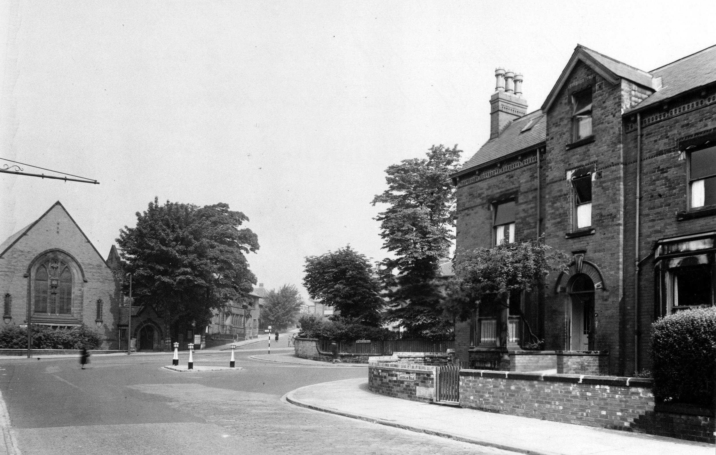 North Lane/Cardigan Road
