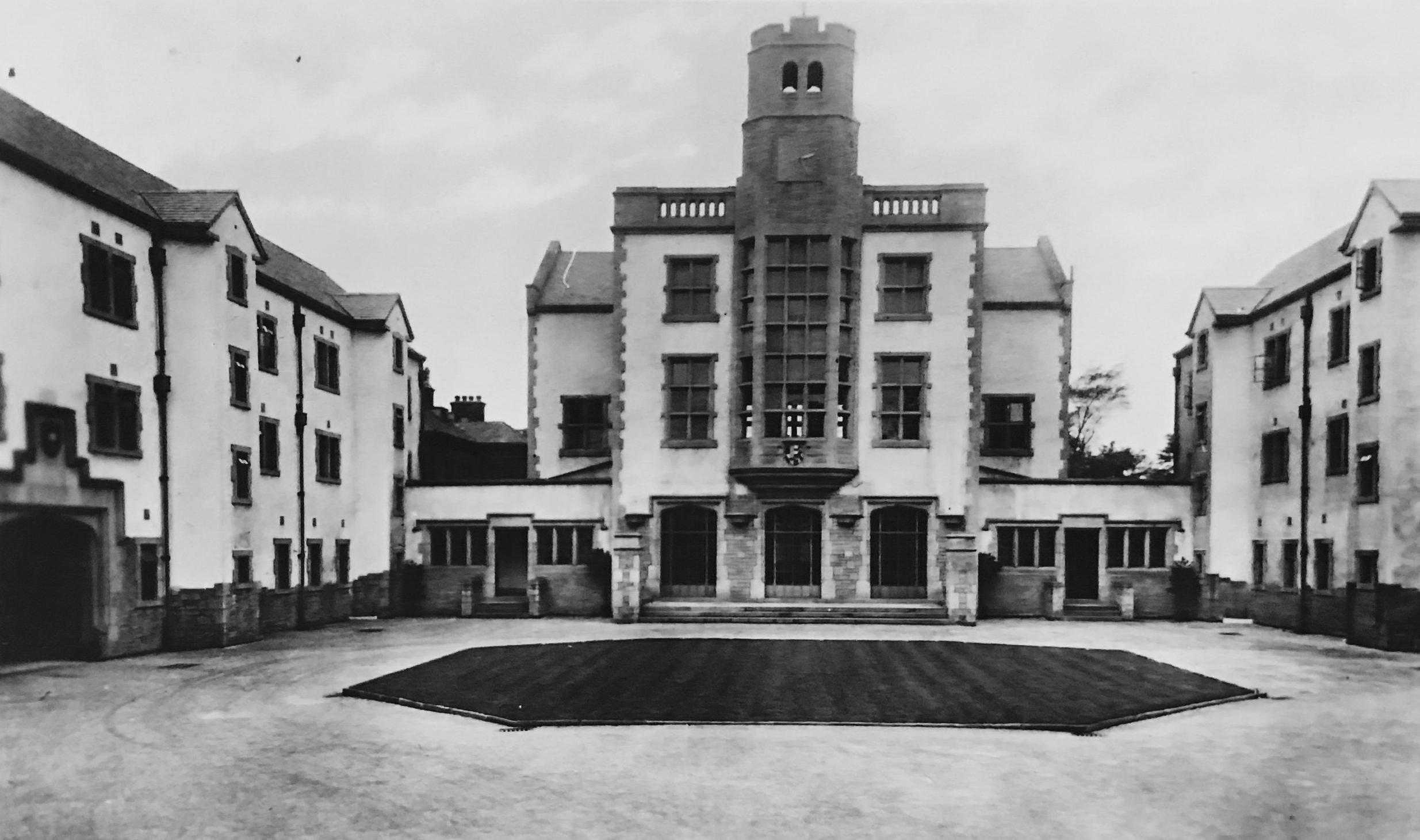 Main Entrance, Devonshire Hall, Cumberland Road