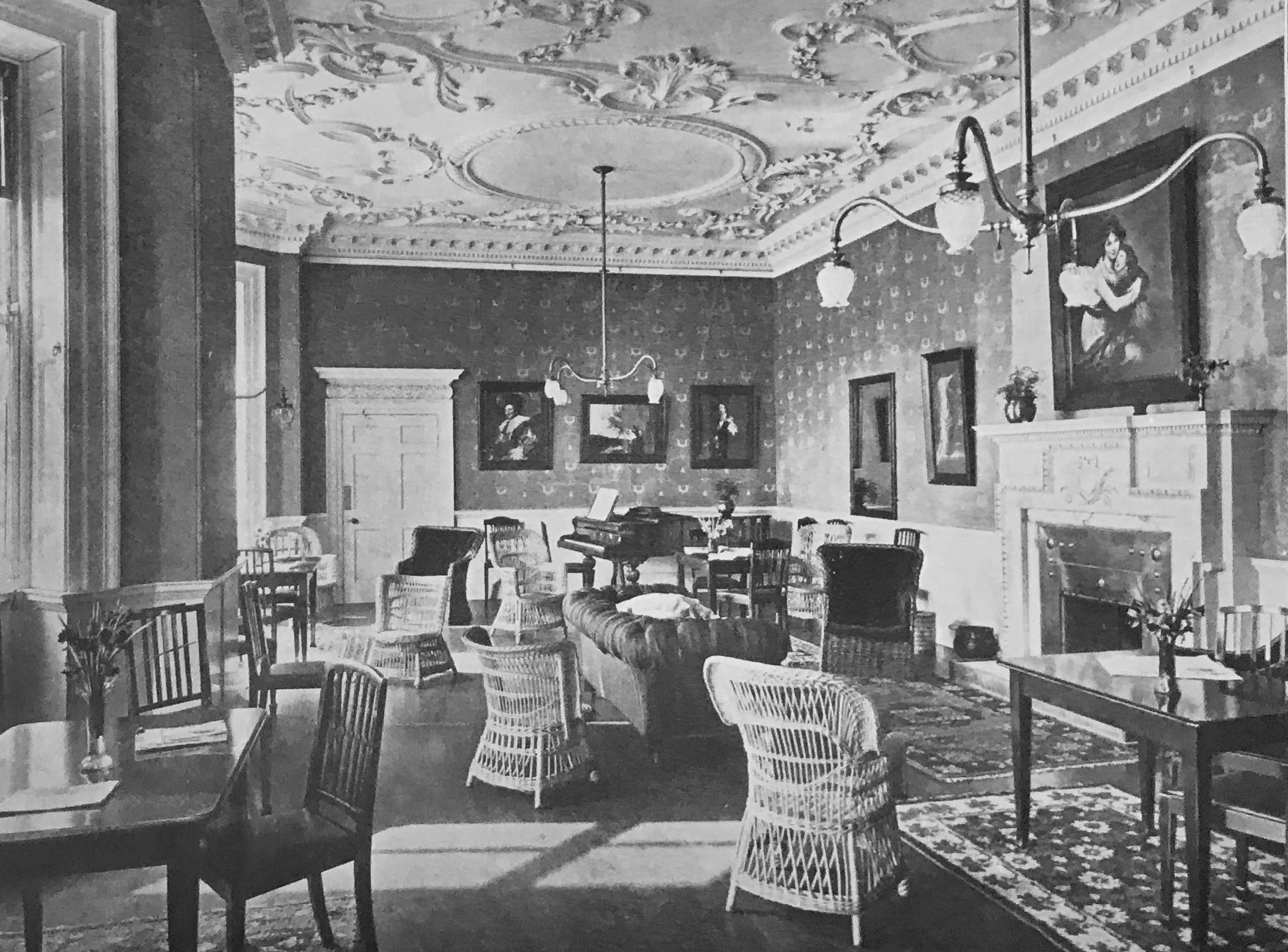 Common Room, The Grange, 1912