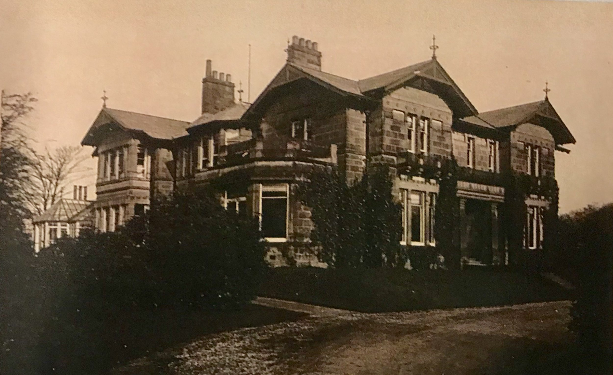 Weetwood Grange (women's hostel) temporary College, c1907