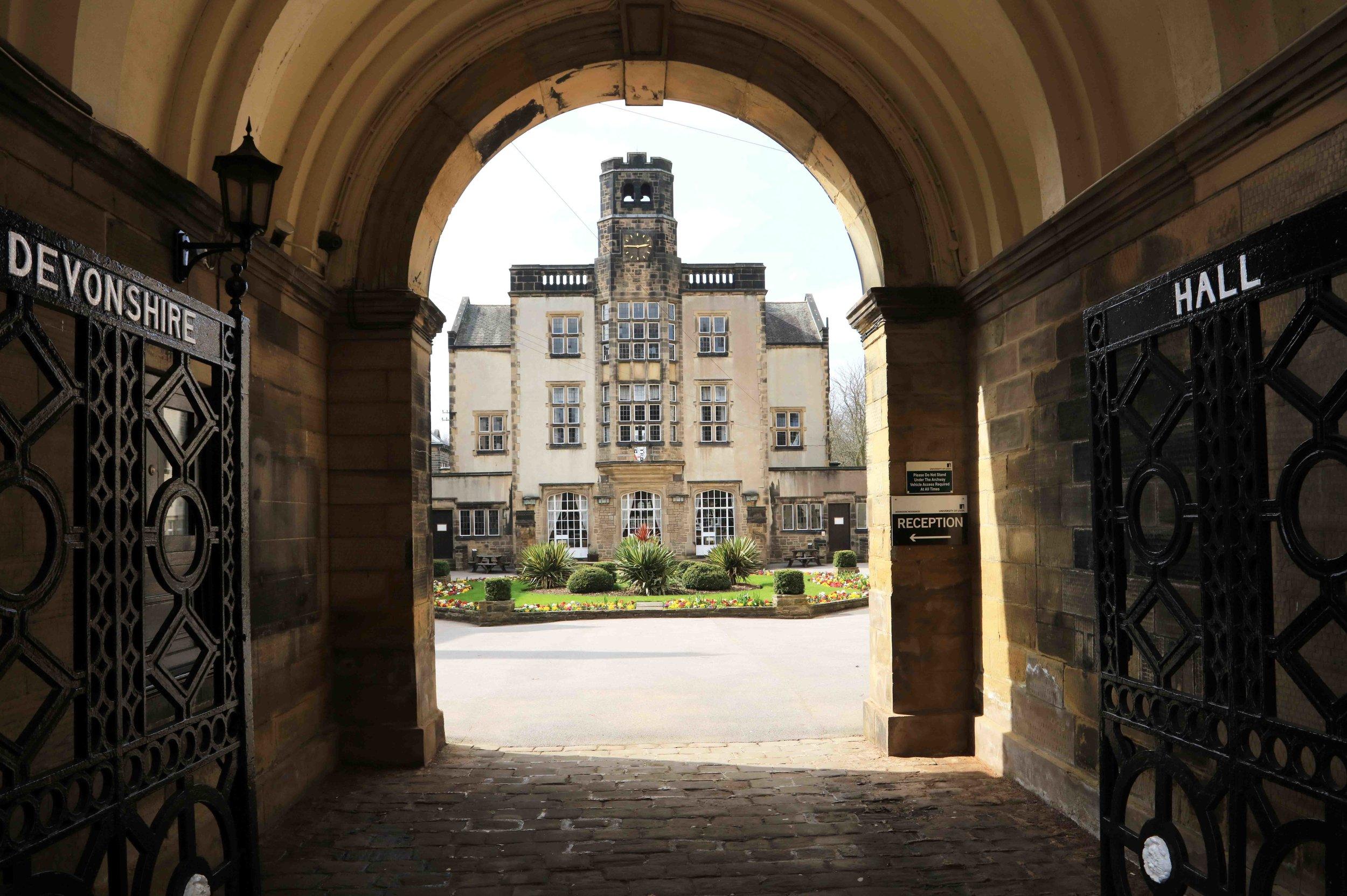 Devonshire Hall, Cumberland Road © JHJ