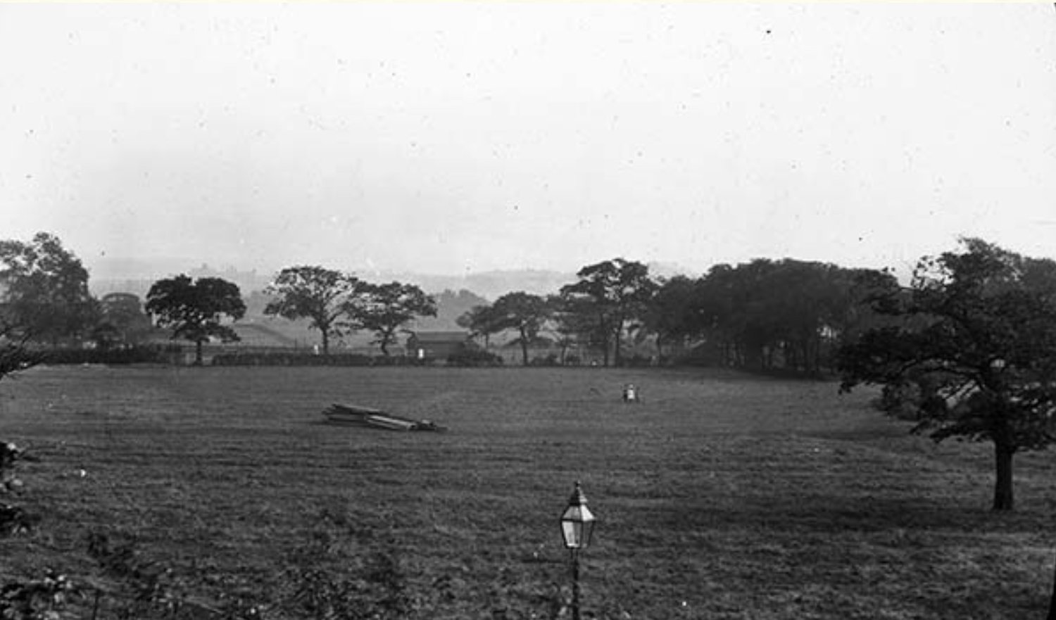 Fields, looking south from 15 Cardigan Road, 1890