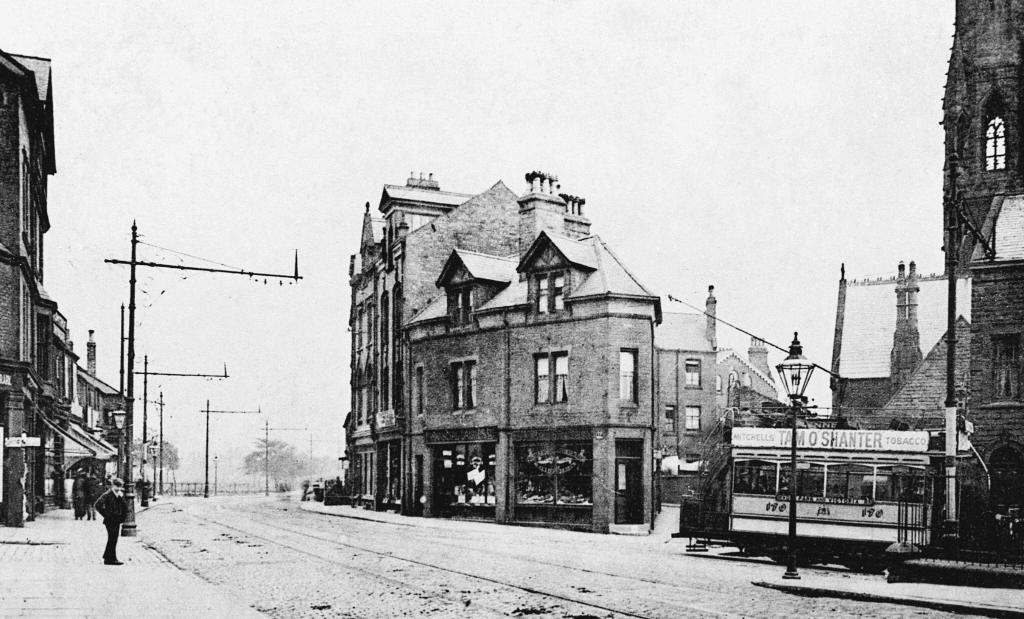 Hyde Park Corner, from Headingley Lane, undated
