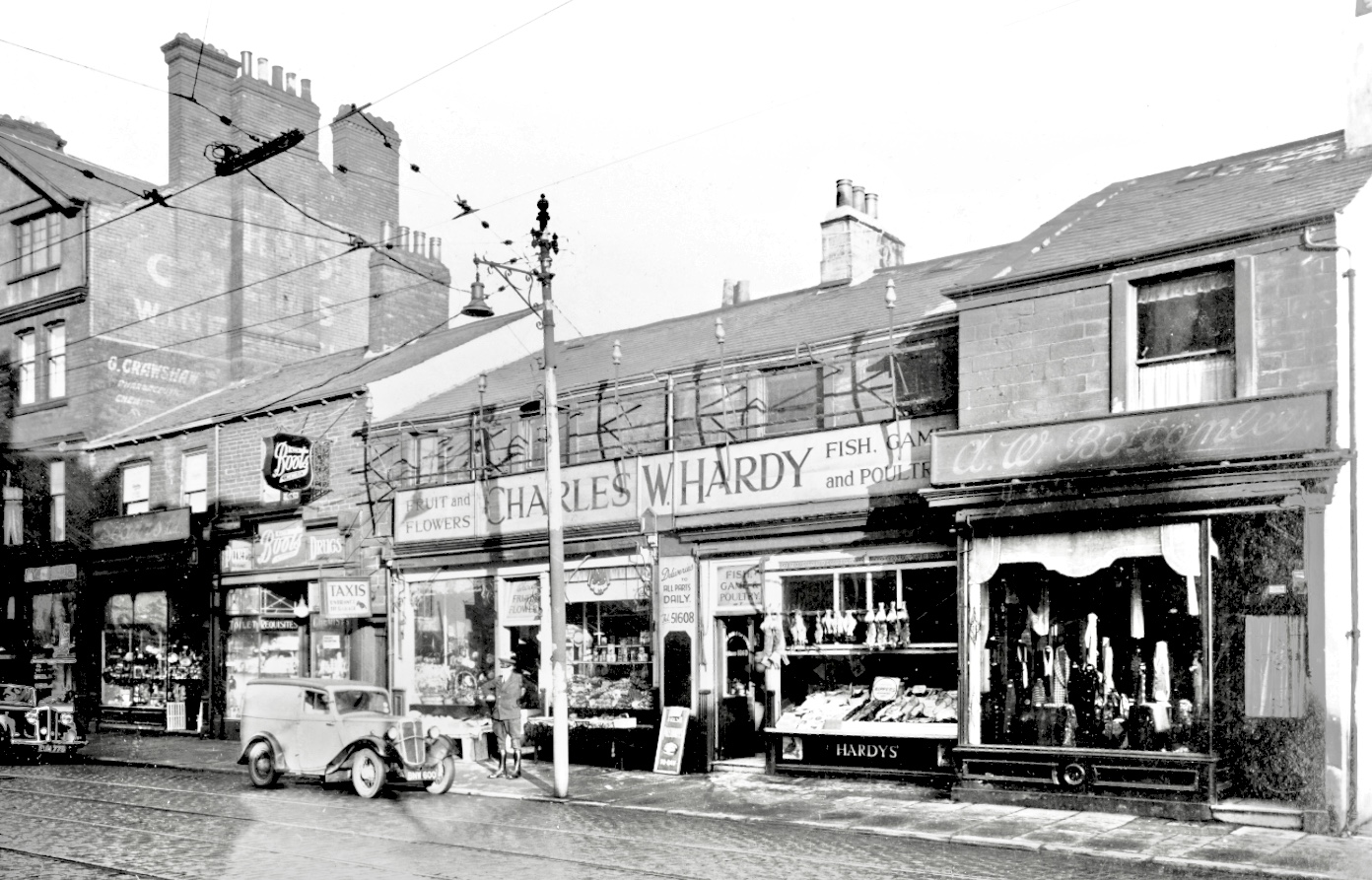 Hyde Park Corner, Headingley Lane, 1937