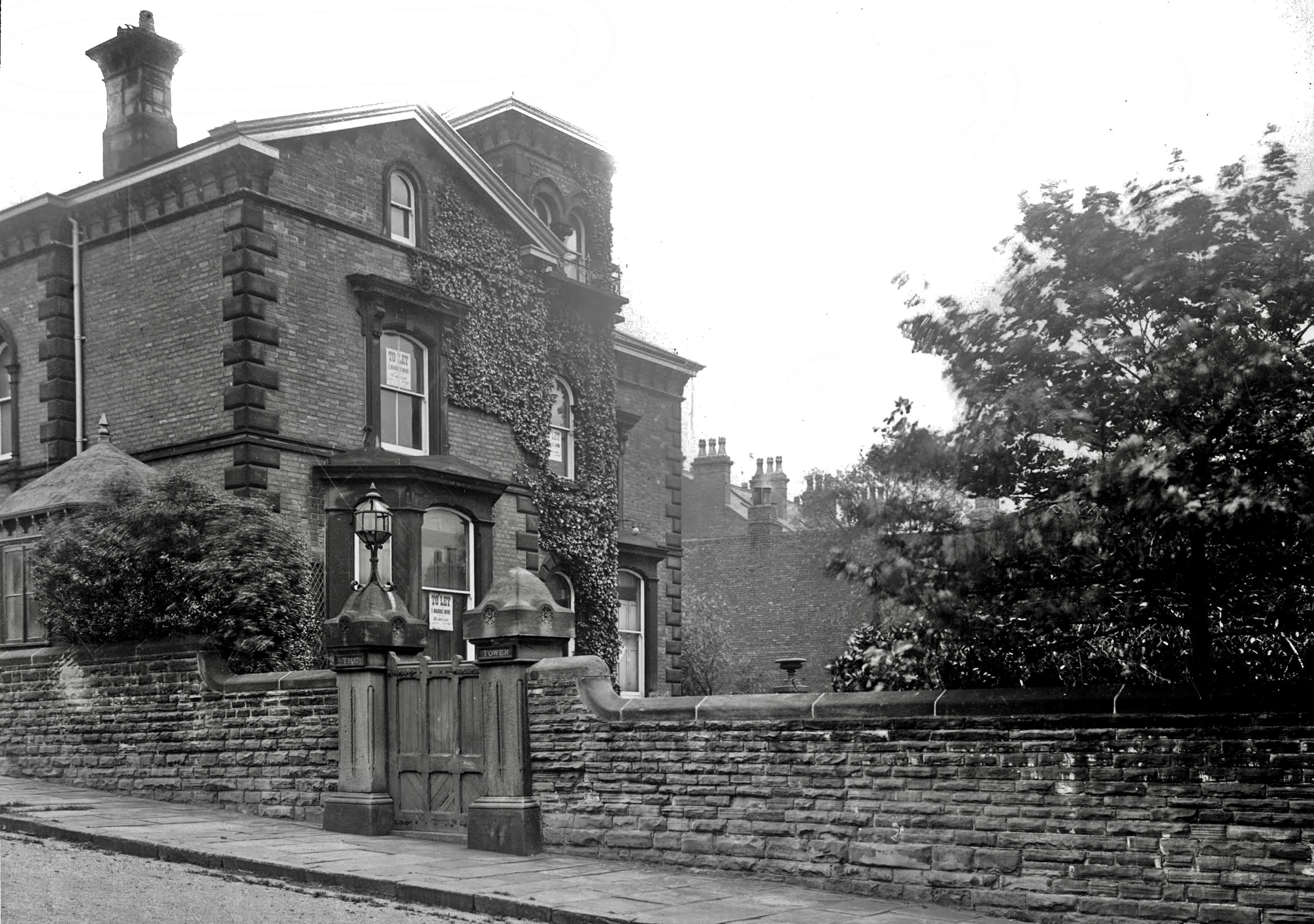 The Tower, Woodhouse Cliff, 1913