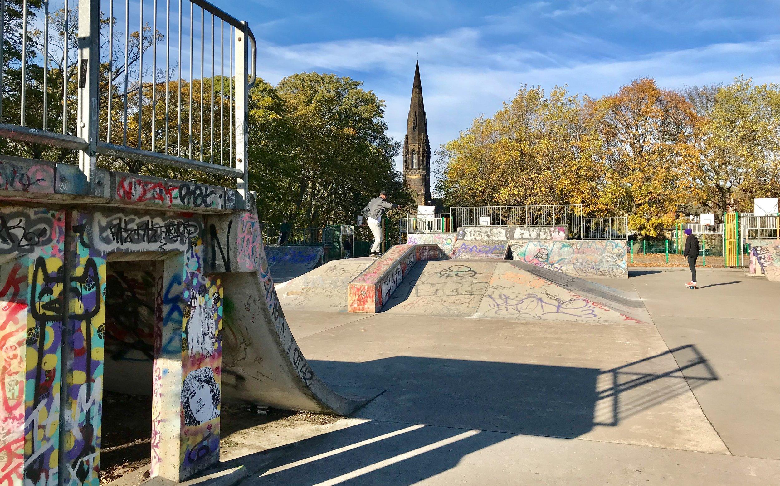 Skatepark, Woodhouse Moor © HP