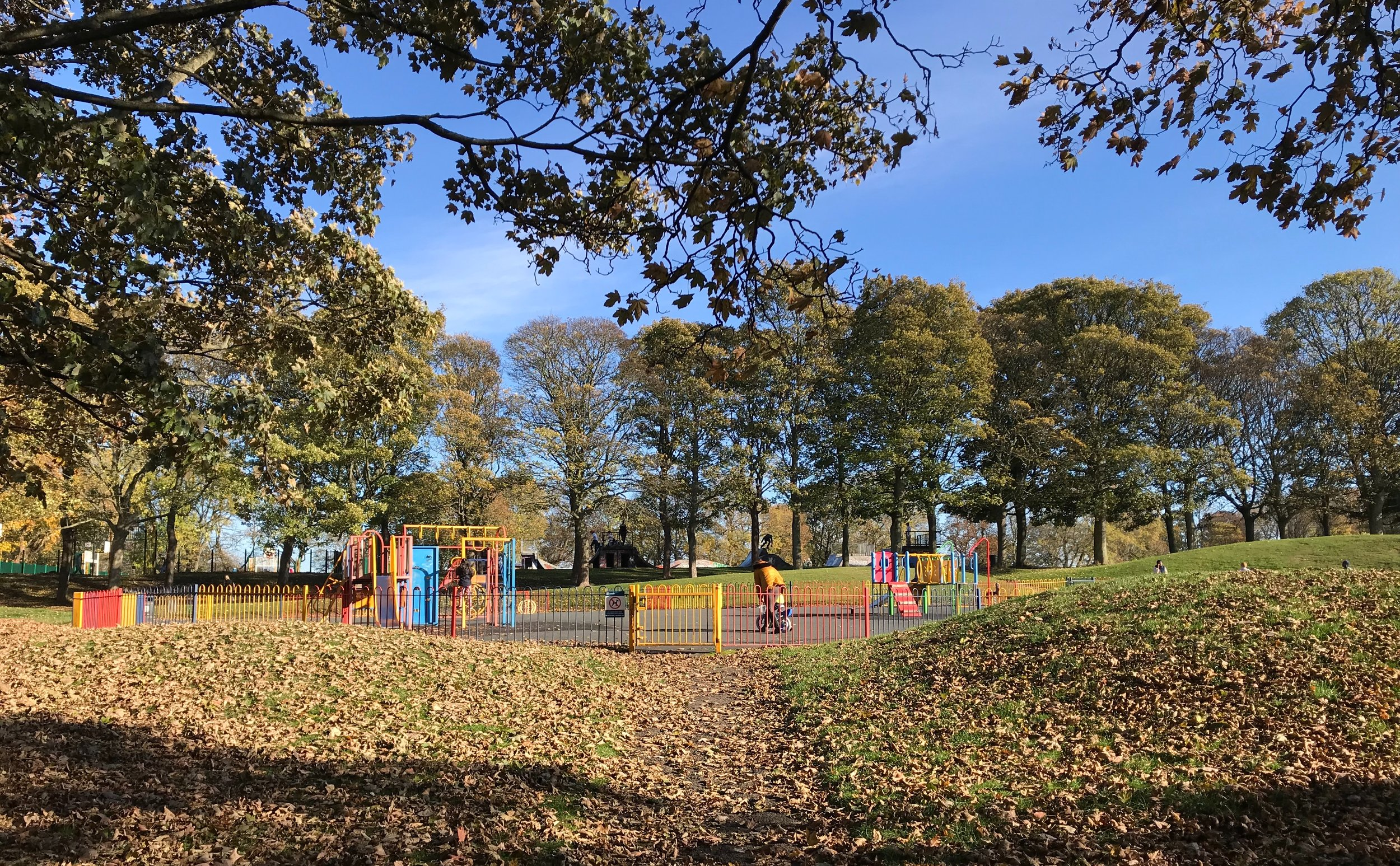 Playground, Woodhouse Moor © HP