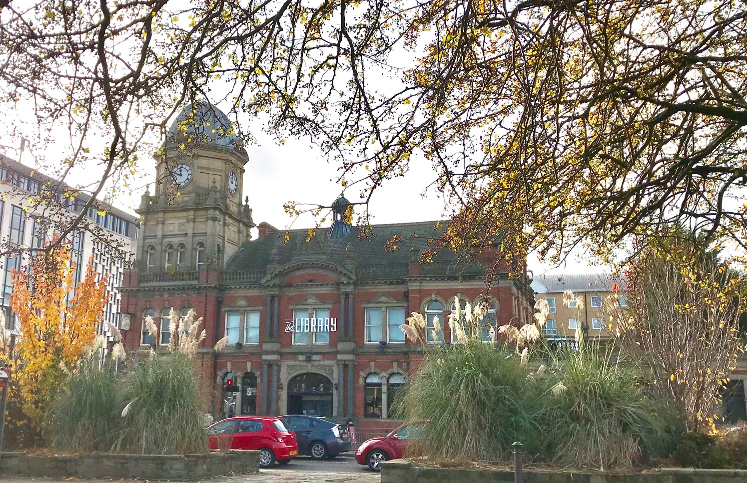 The Library, Woodhouse Moor © HP
