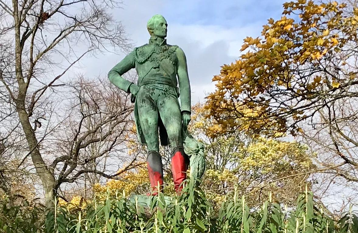Duke of Wellington Statue, Woodhouse Moor © HP