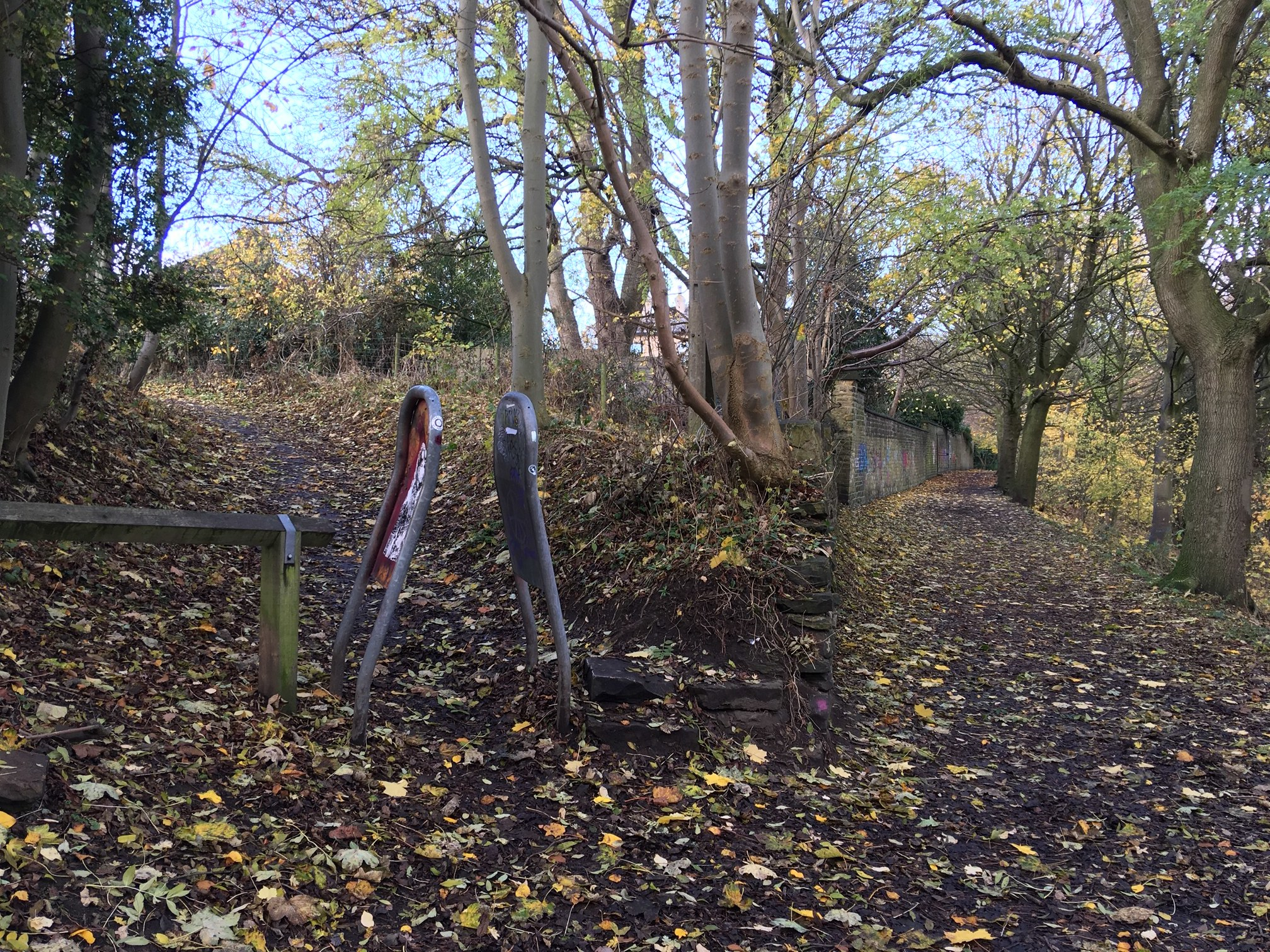 Bedford Fields Entrance to Woodhouse Ridge © RT
