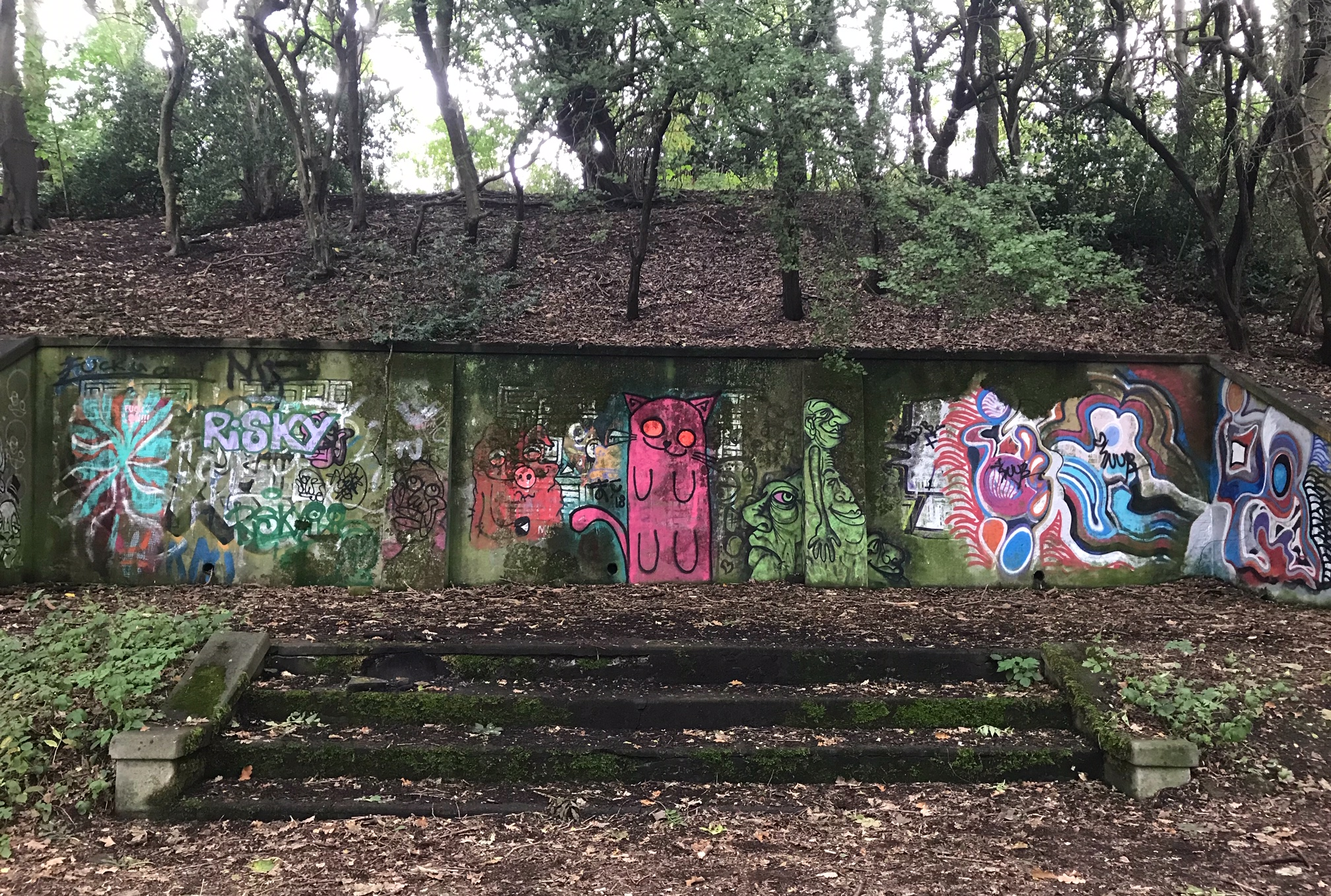 Former Belvedere, Woodhouse Ridge © HP