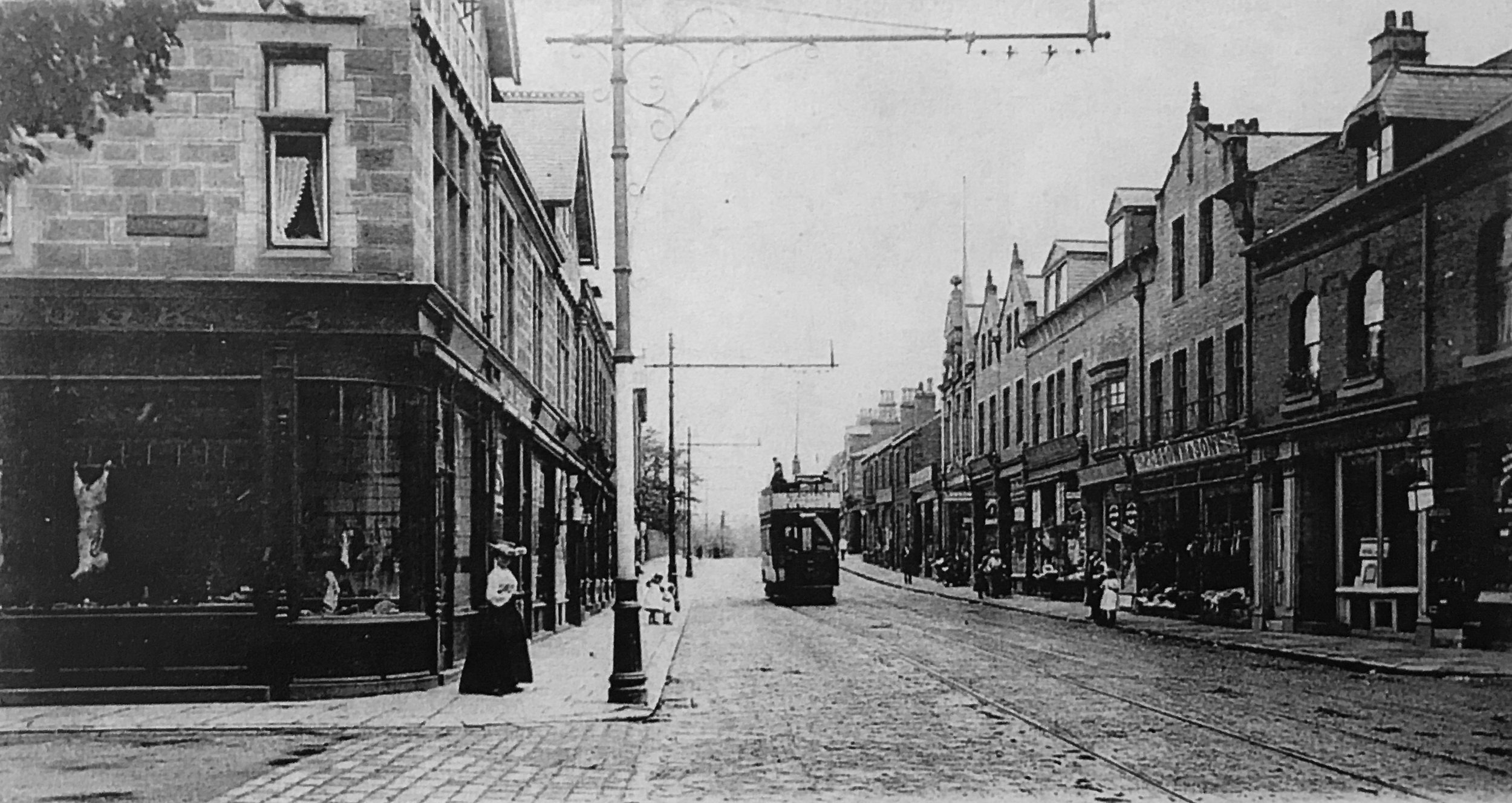 Otley Road and Wood Lane Junction, circa 1905