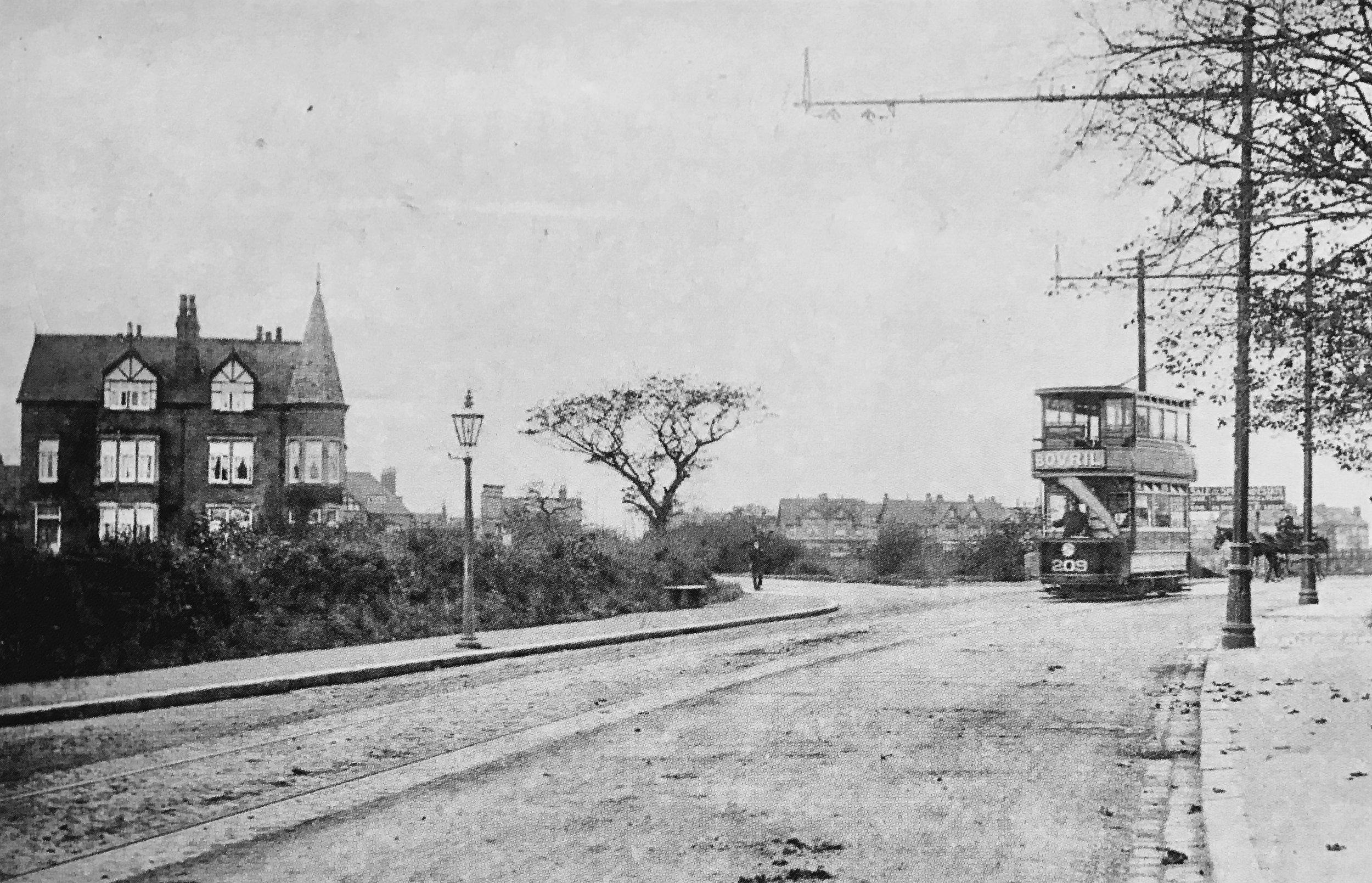 Tram Terminus, West Park