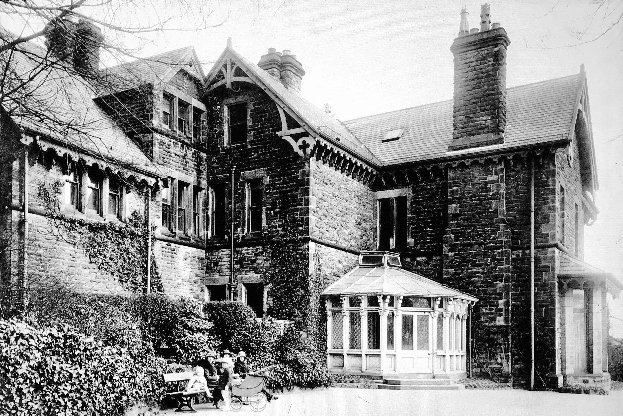 The Hollies, Children's Tuberculosis Sanatorium, 1924