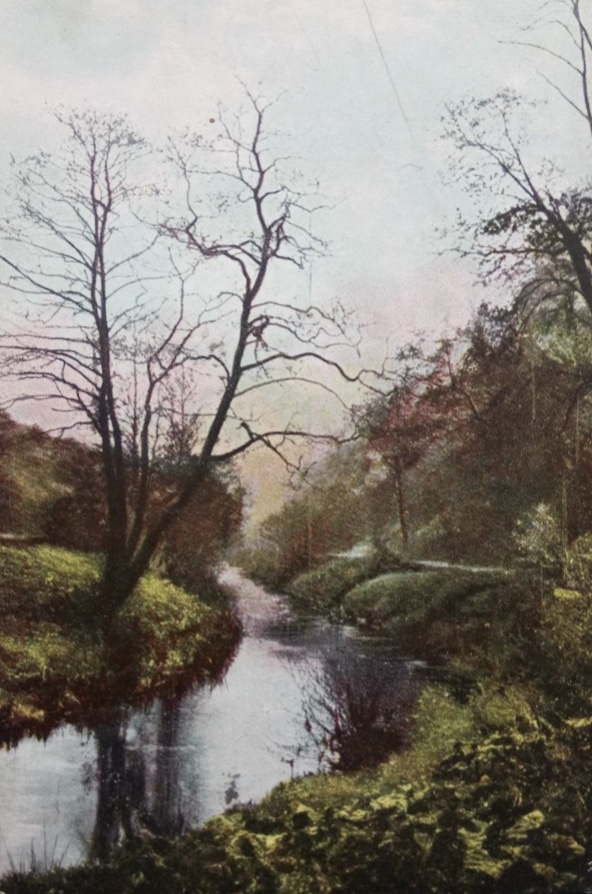 Meanwood Beck, Painting 1826