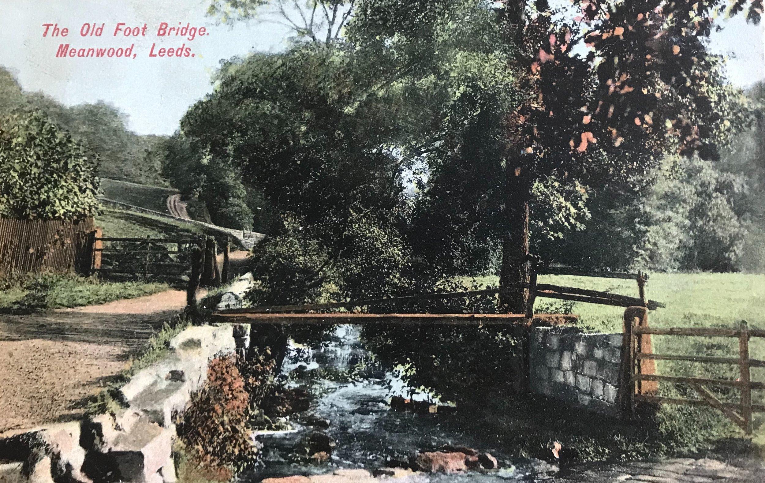 Meanwood Beck, Circa 1905