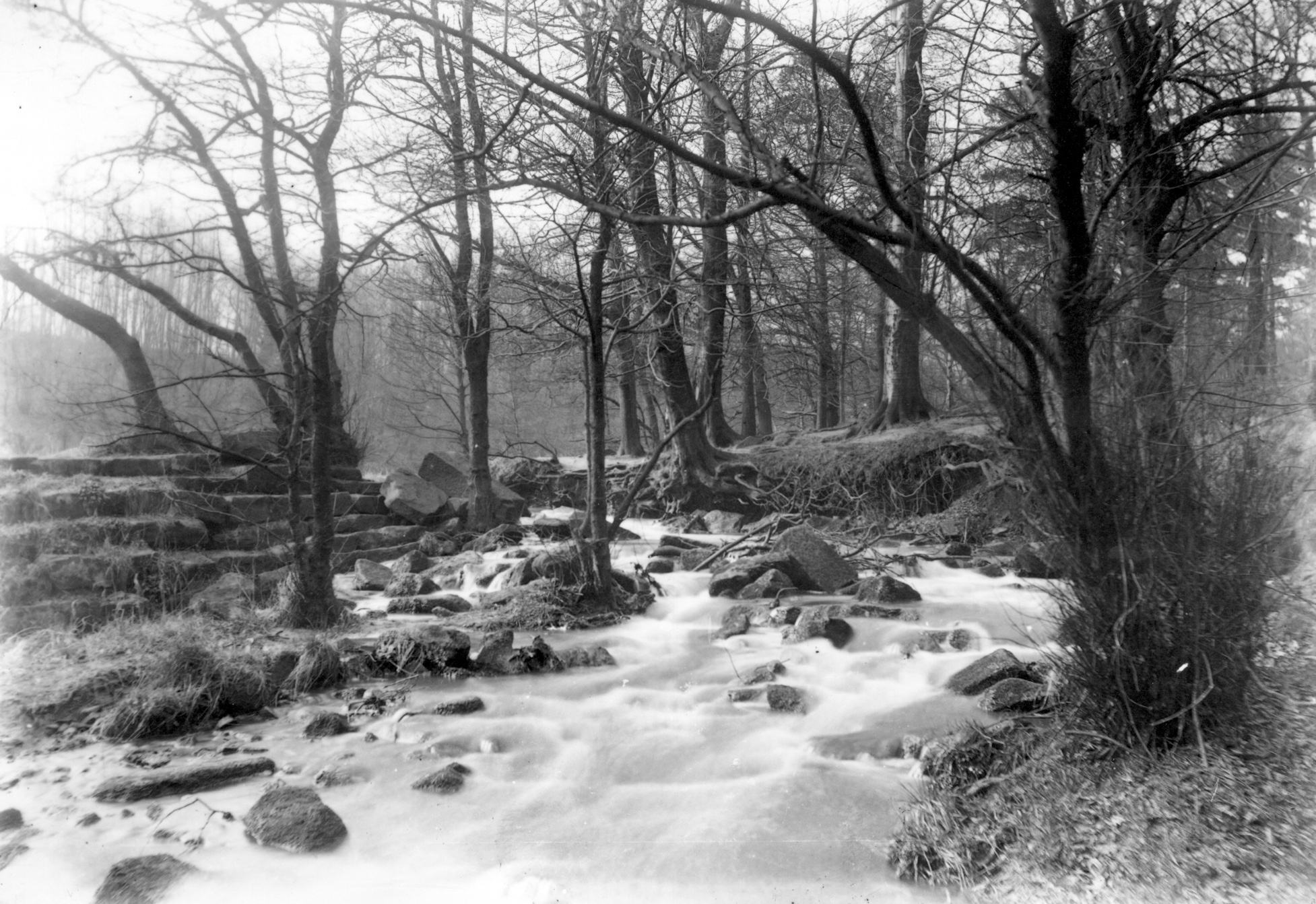 Meanwood Beck, Early 1900s
