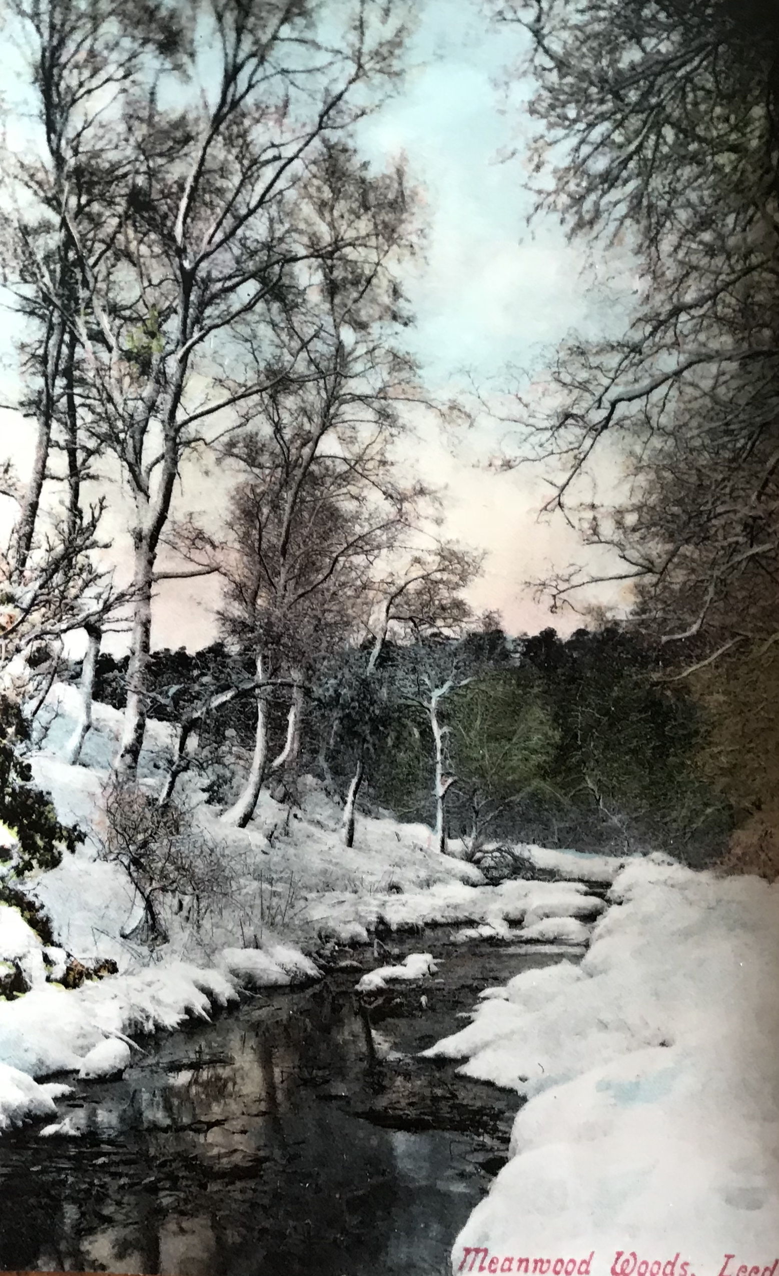 Meanwood Beck in Winter, undated