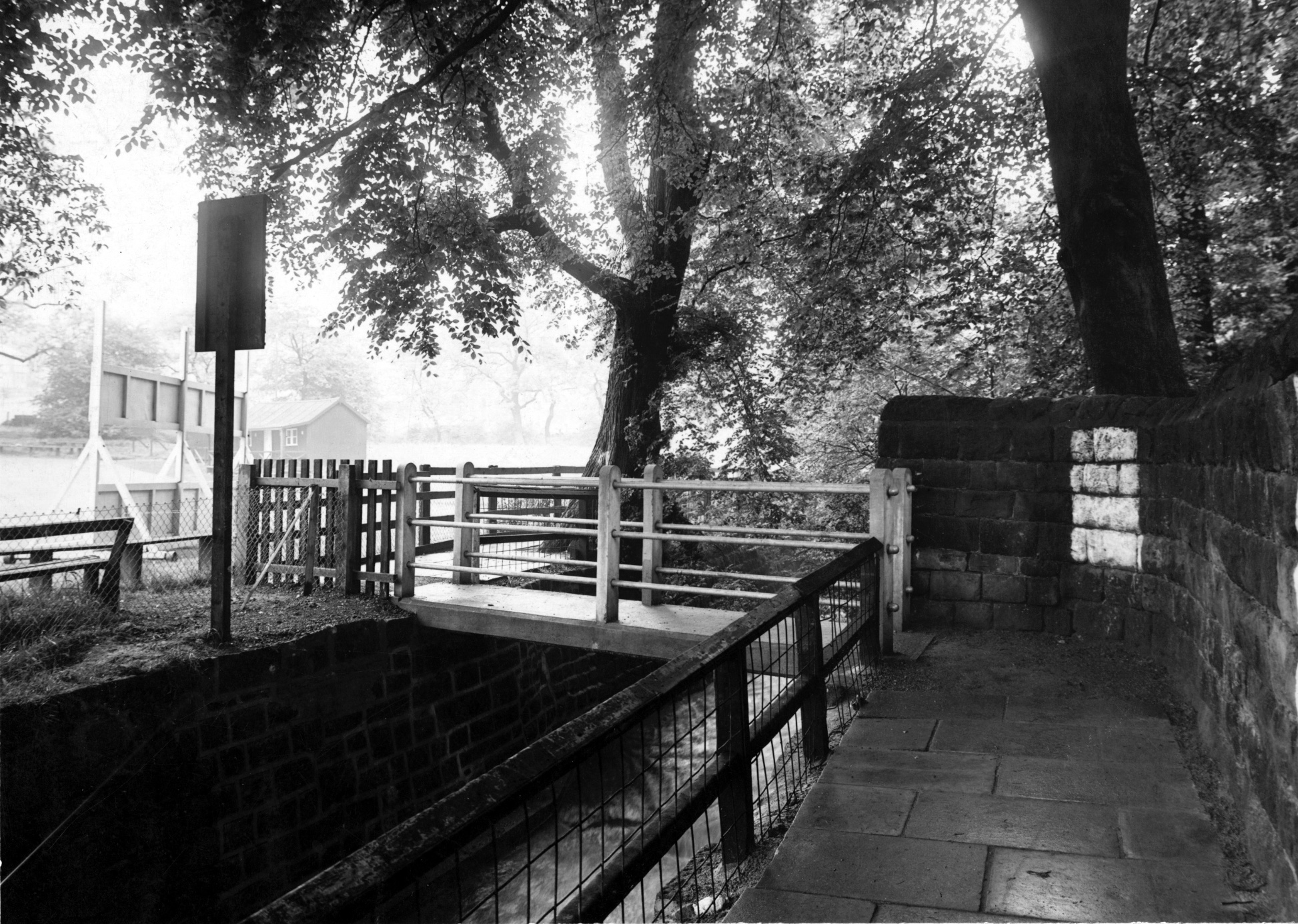 Bridge No78 over Meanwood Beck, 1948