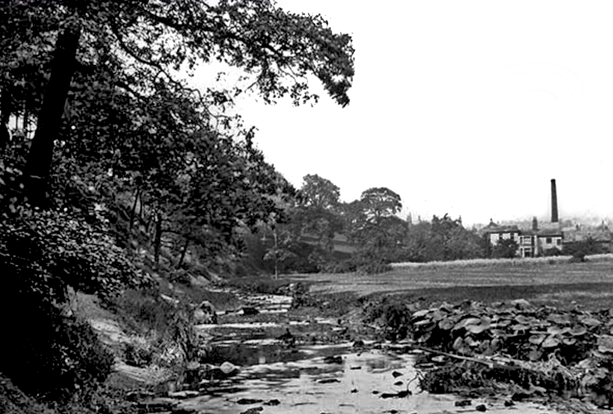 Meanwood Valley, up Meanwood Beck, circa 1890