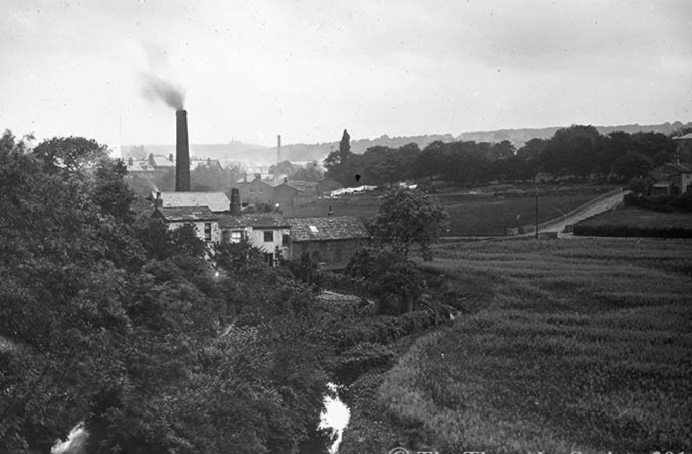 Headingley from Batty's Wood, circa 1890