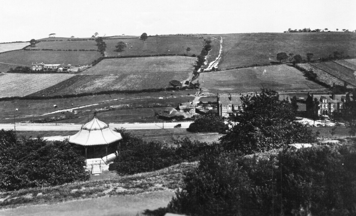 Woodhouse Ridge, with Bandstand, undated