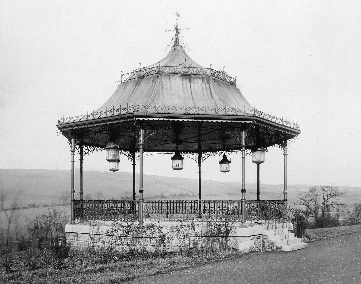 Bandstand, Woodhouse Ridge, 1904