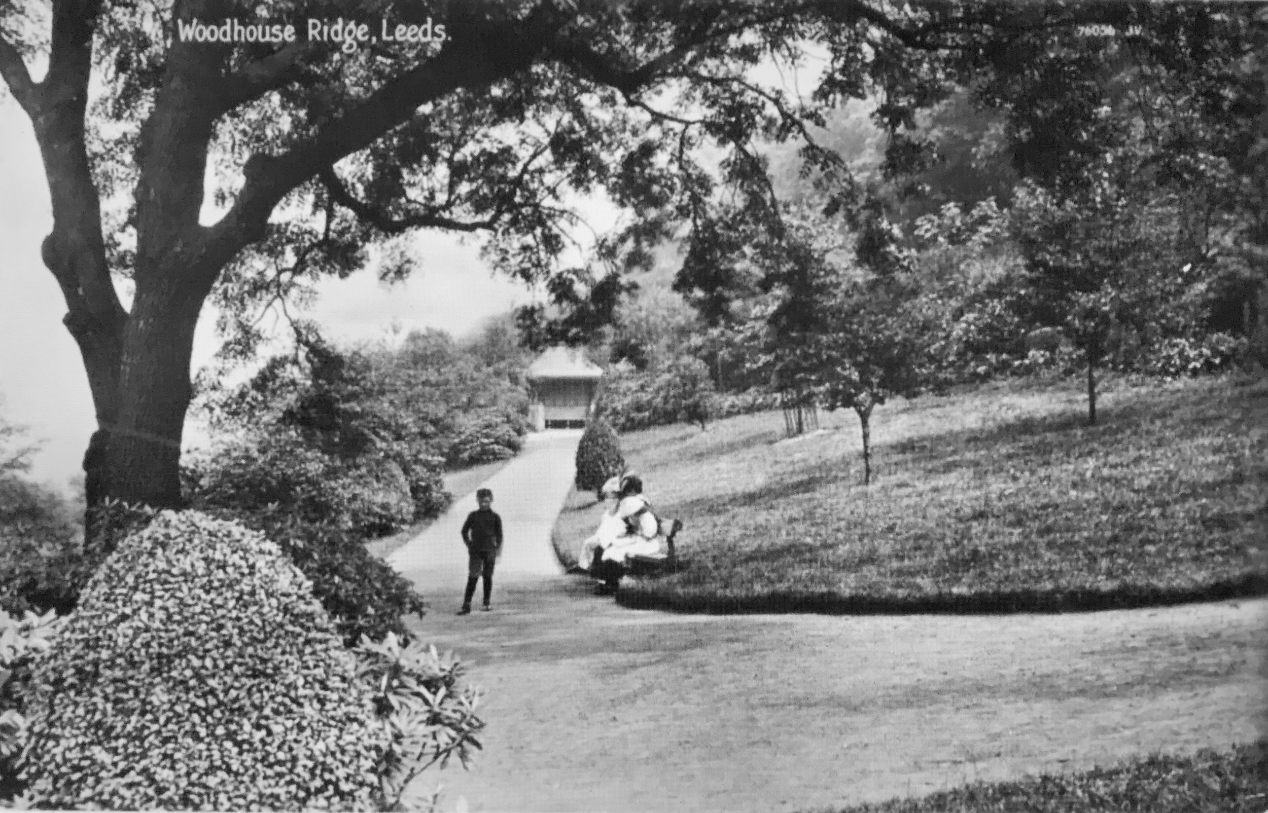 Woodhouse Ridge, with Chinese Pavilion [demolished], undated