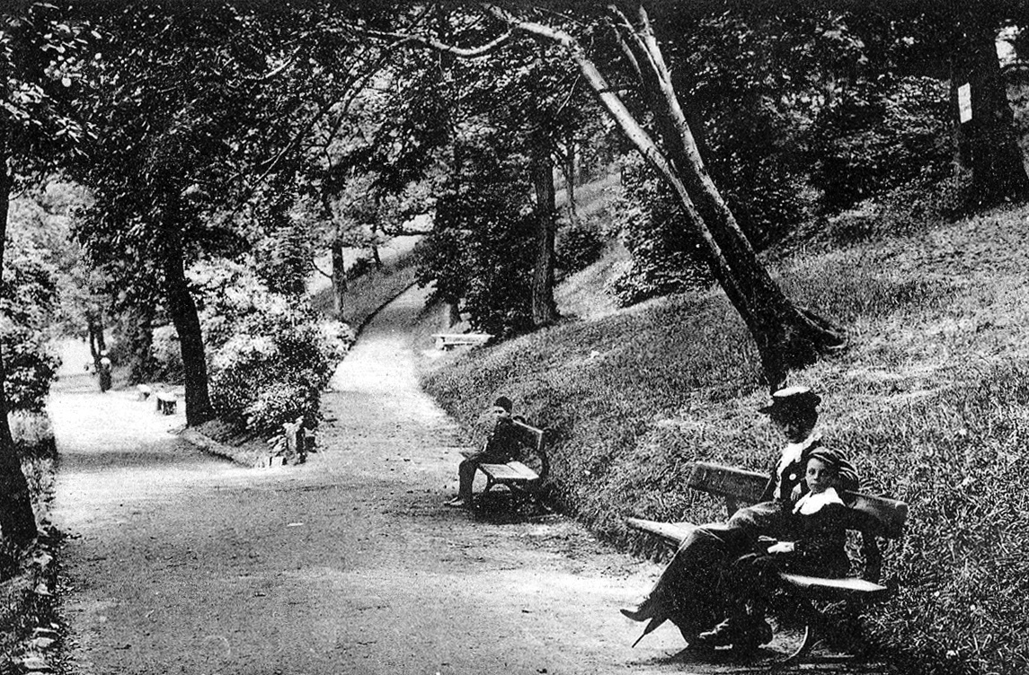 Paths on Woodhouse Ridge, undated