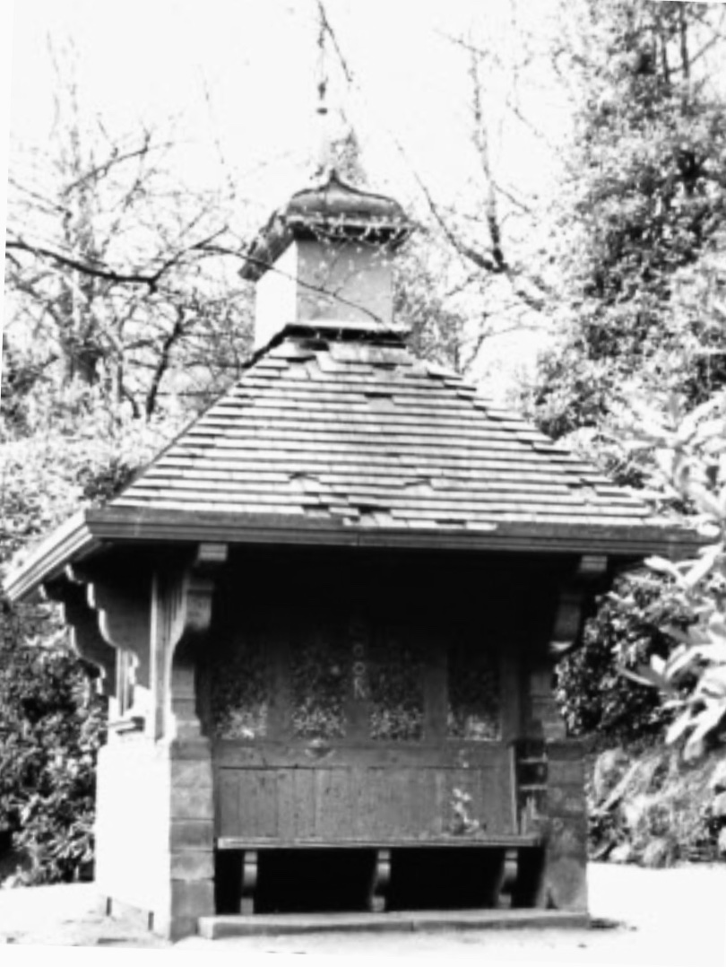 Warburton Memorial Shelter/Chinese Pavilion [demolished], Woodhouse Ridge, undated