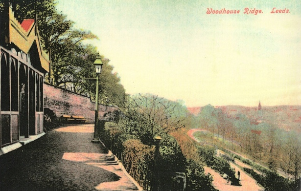 Belvedere [demolished], Top Path west, with Gas Lamp, Woodhouse Ridge, 1913