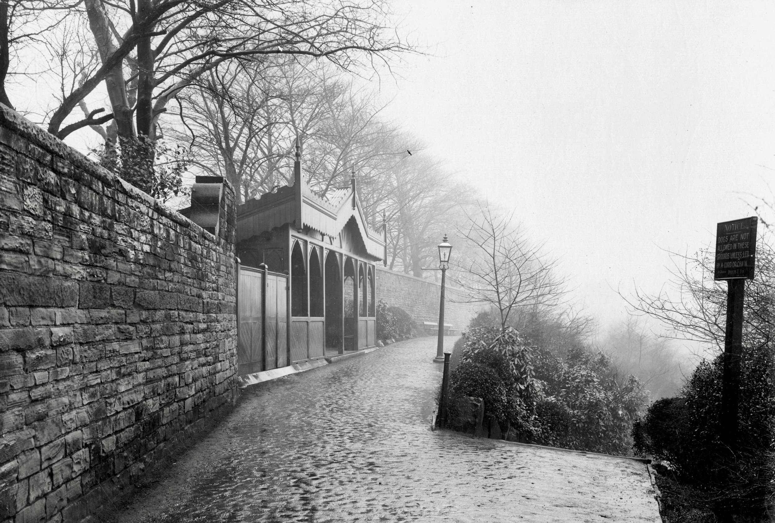 Belvedere [demolished], Top Path west, Woodhouse Ridge, 1904