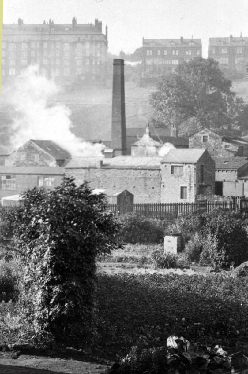 Woodland Dye Works [demolished], undated