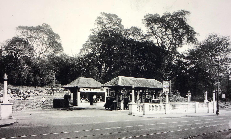 Petrol Station, Headingley Lane, 1932