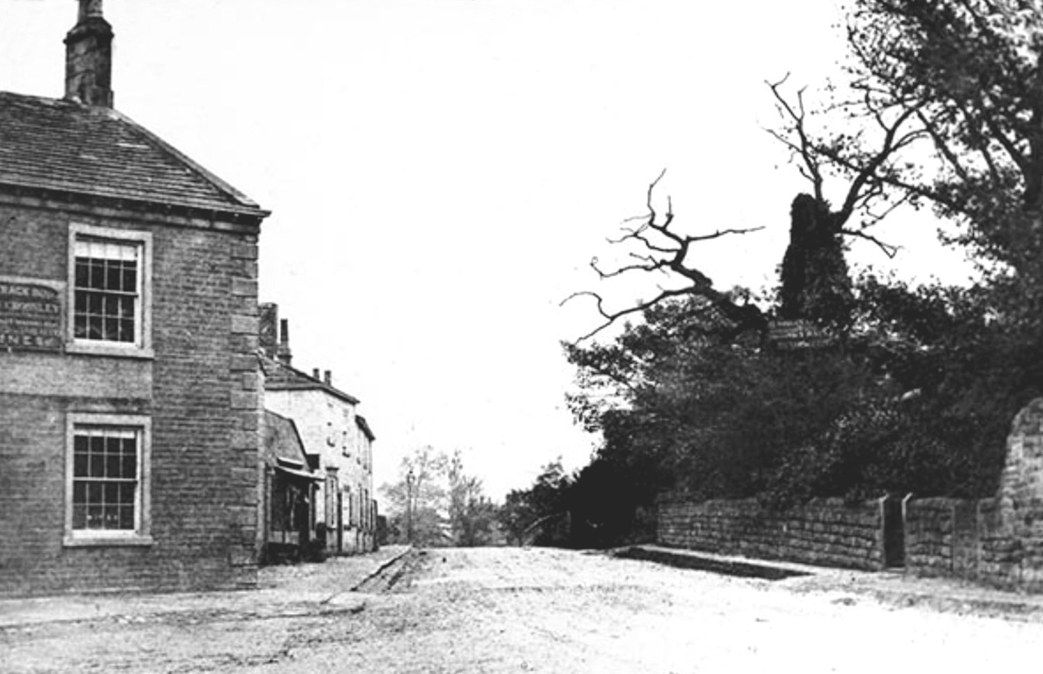 Otley Road, between Skyrack and Shire Oak, c1852