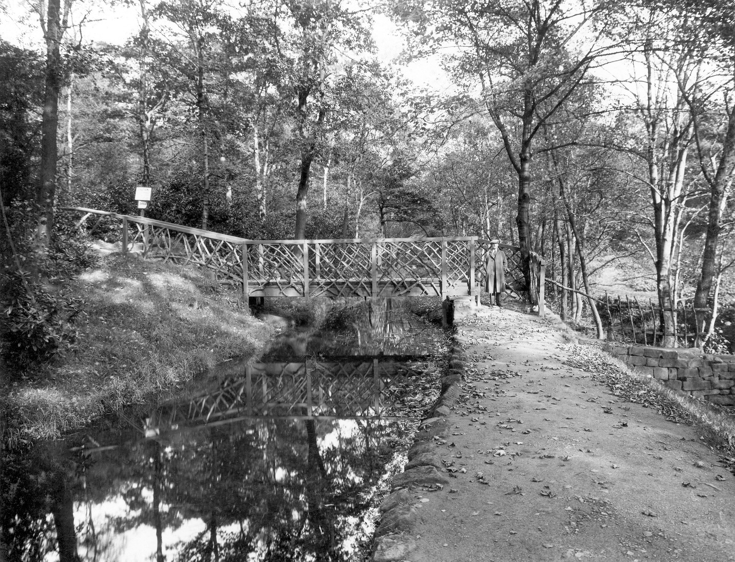 04  Mill stream, for Weetwood Mill, 1936