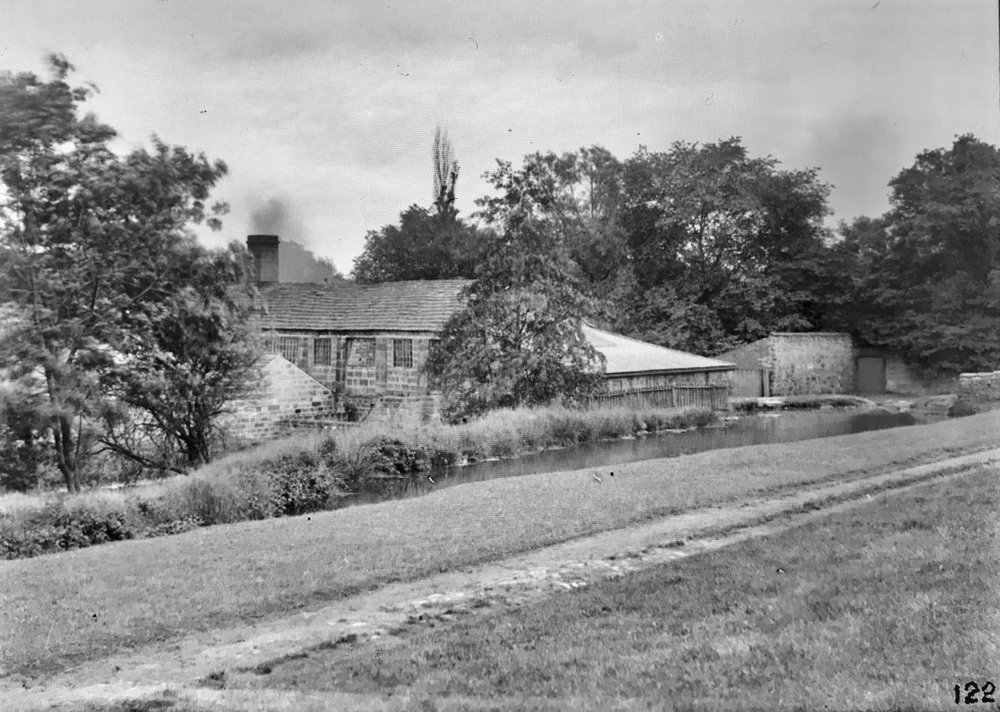 07  Weetwood Mill (demolished) and mill pond, 1888